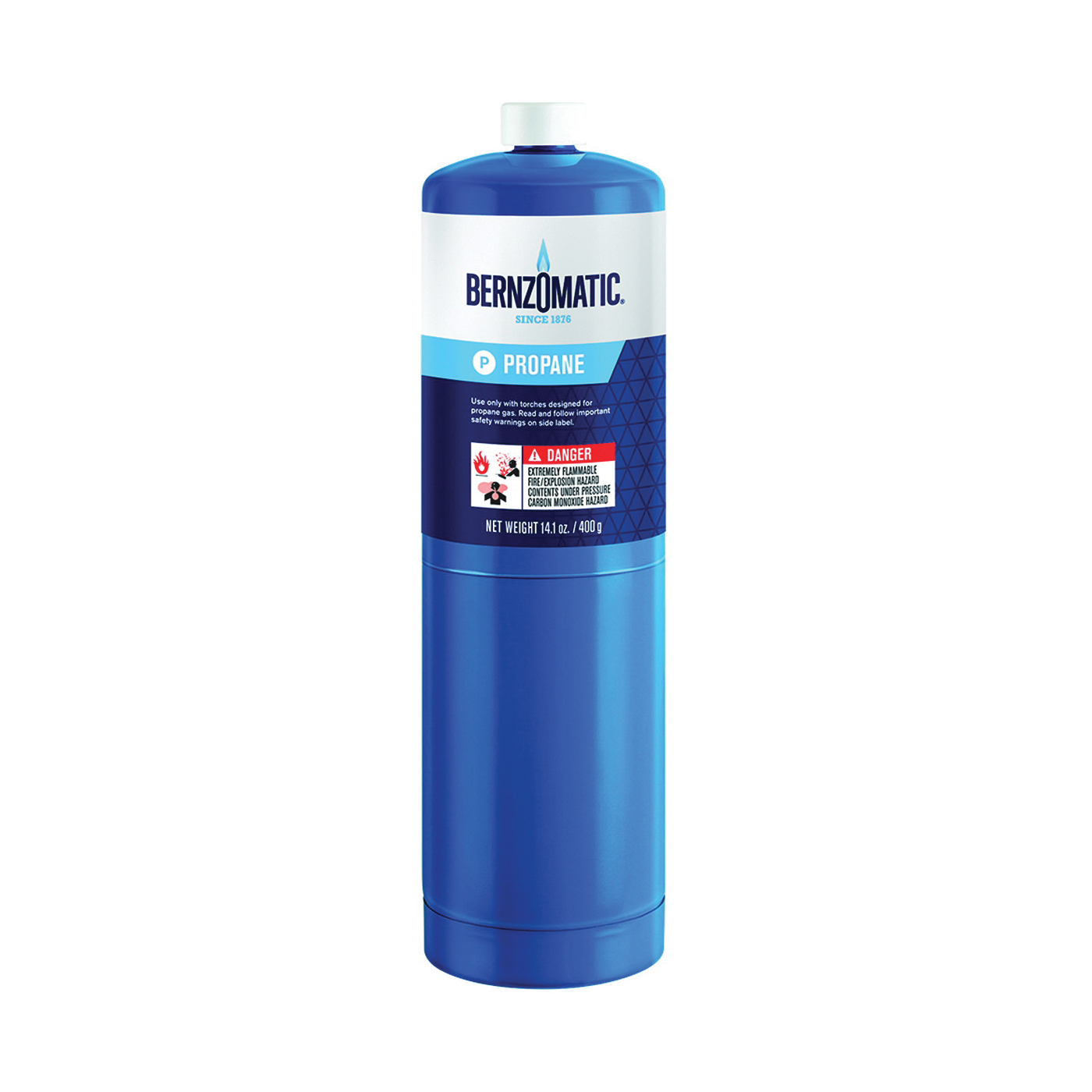Picture of BernzOmatic 304182 Propane Hand Torch Cylinder, Gasoline, 14.1 oz Package