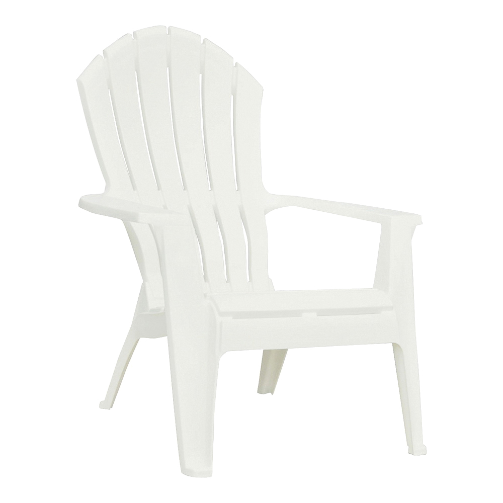 Picture of Adams RealComfort 8371-48-3700 Adirondack Chair, 30 in W, 32-1/2 in D, 37-1/2 in H, Polypropylene Frame