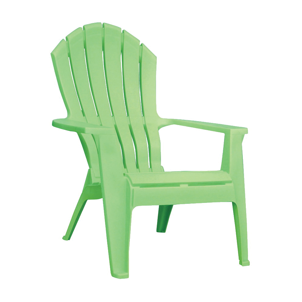 Picture of Adams RealComfort 8371-08-3700 Adirondack Chair, 30 in W, 32-1/2 in D, 37-1/2 in H, Polypropylene Frame