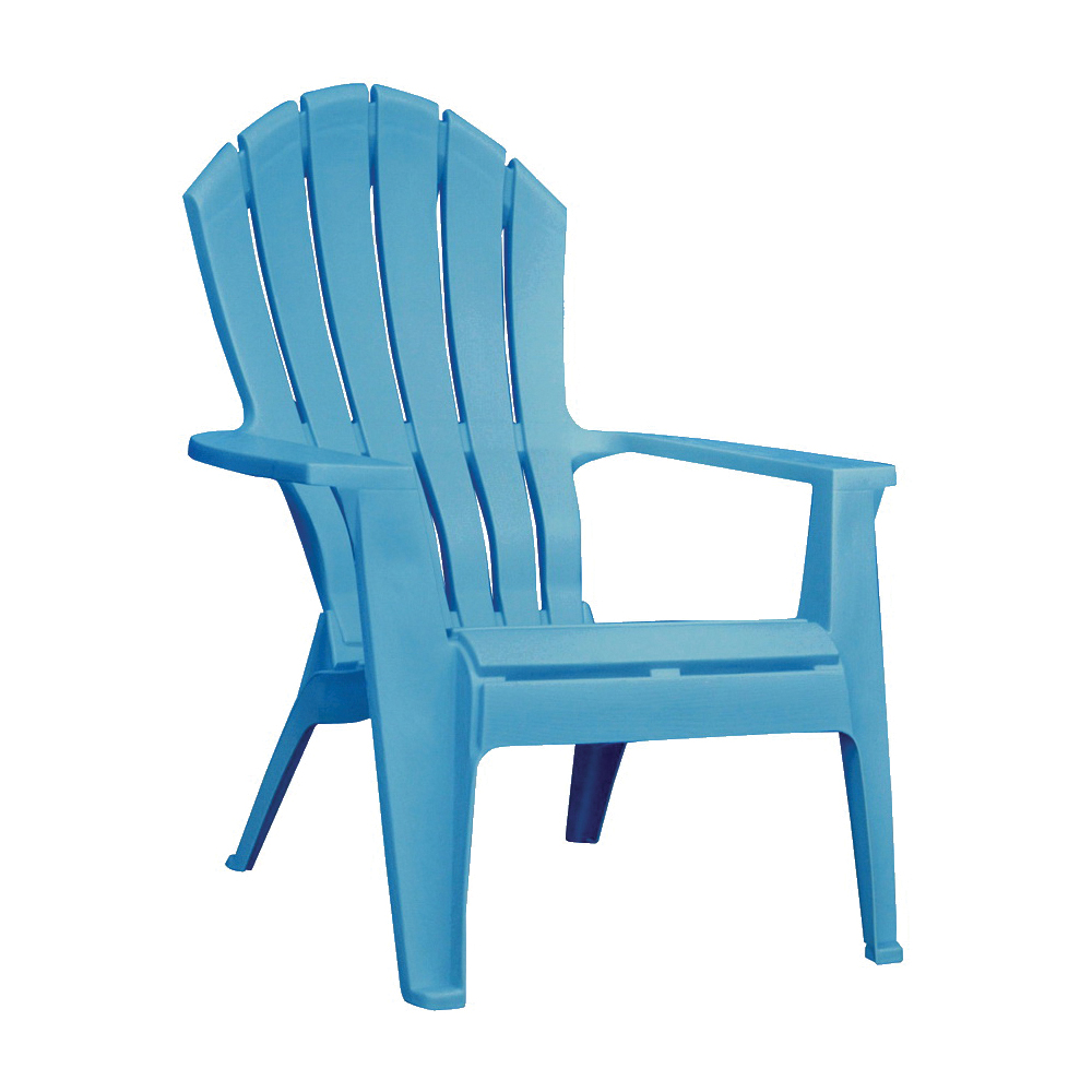 Picture of Adams RealComfort 8371-21-3700 Adirondack Chair, 30 in W, 32-1/2 in D, 37-1/2 in H, Polypropylene Frame