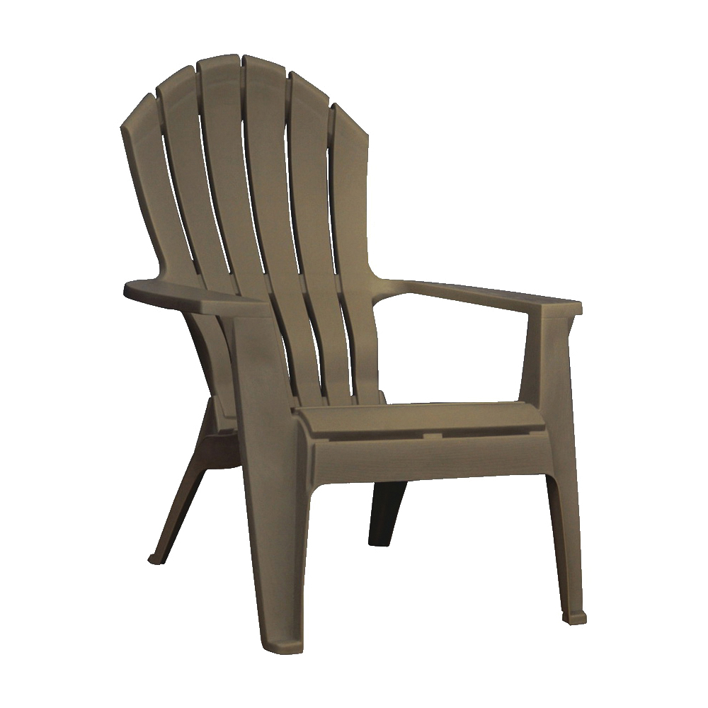 Picture of Adams RealComfort 8371-60-3700 Adirondack Chair, 30 in W, 32-1/2 in D, 37-1/2 in H, Polypropylene Frame