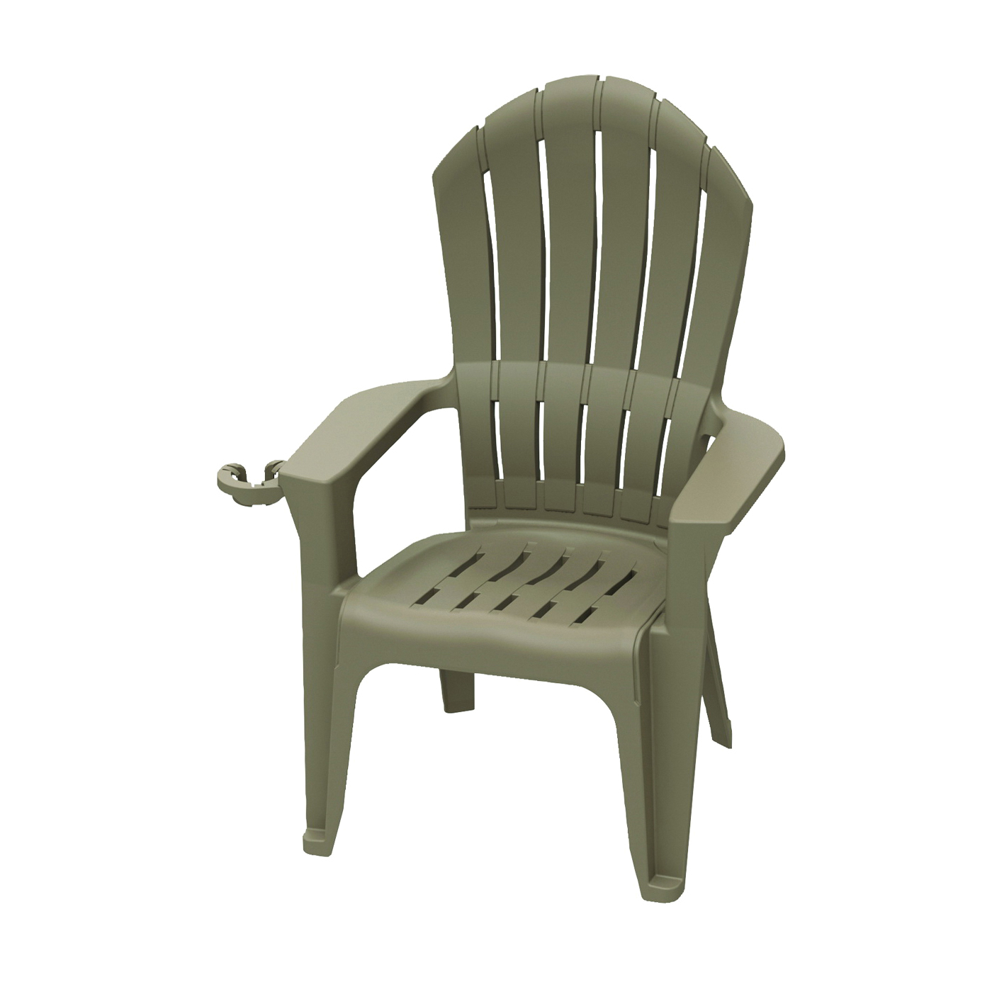 Picture of Adams Big Easy 8390-96-3700 Adirondack Chair, 31.301 in W, 29.468 in D, 45.695 in H, Polypropylene Frame