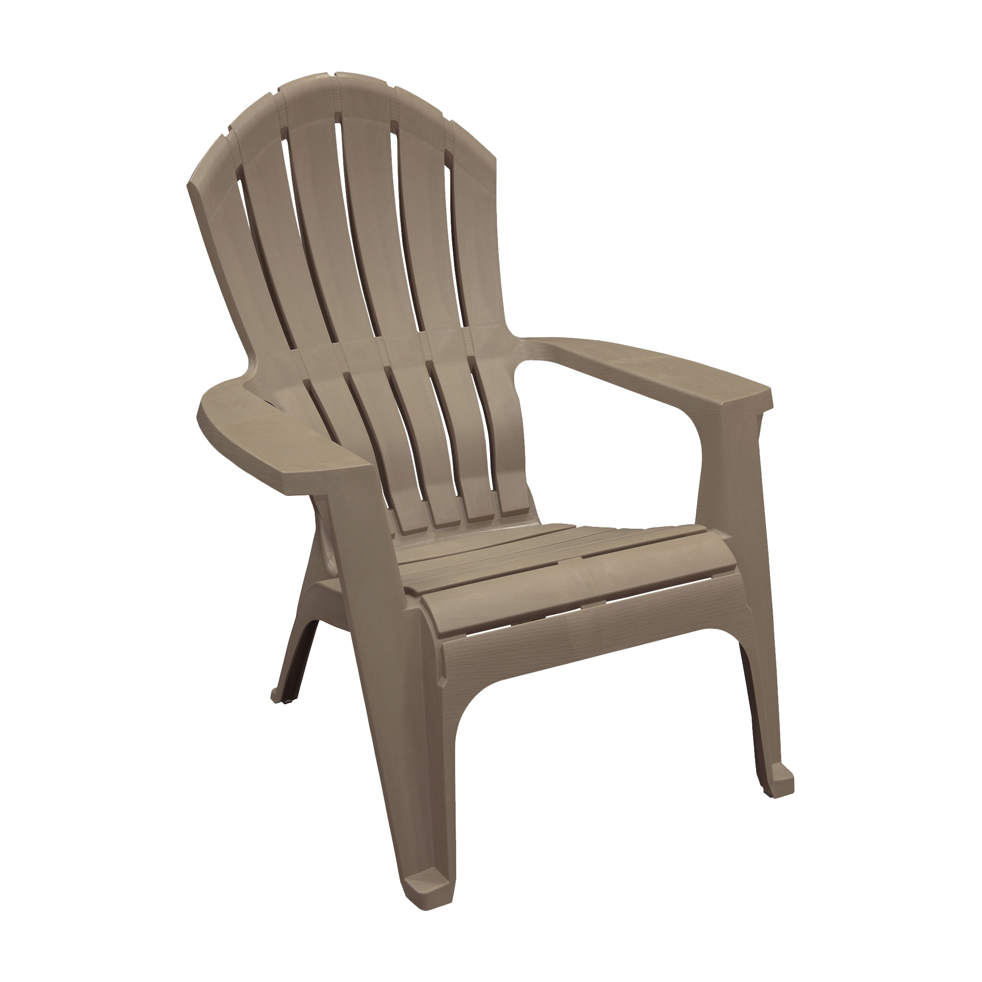 Picture of Adams RealComfort 8371-96-3700 Adirondack Chair, 30 in W, 32-1/2 in D, 37-1/2 in H, Polypropylene Frame