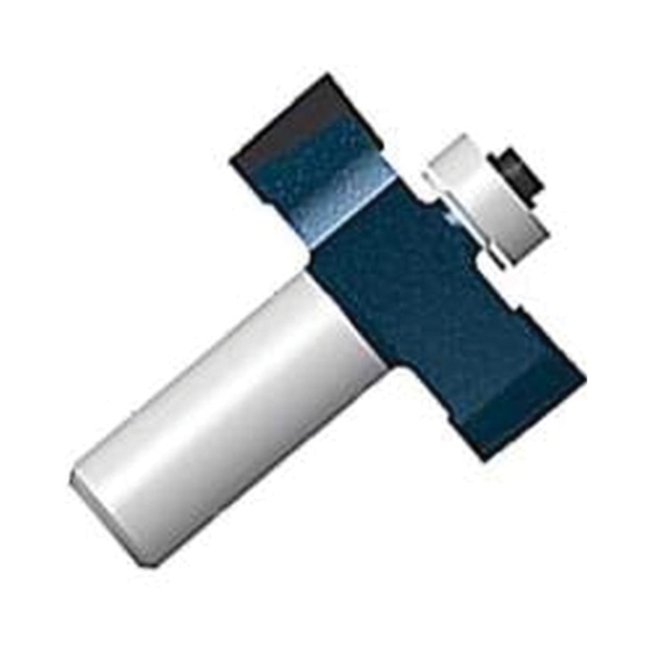 Picture of Bosch 85218MC Router Bit, 1-1/4 in Dia Cutter, 2 in OAL, 1/4 in Dia Shank, Carbide