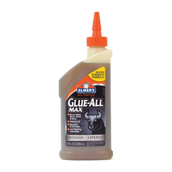 Picture of Elmers E9416 Glue, Brown, 8 oz Package, Bottle