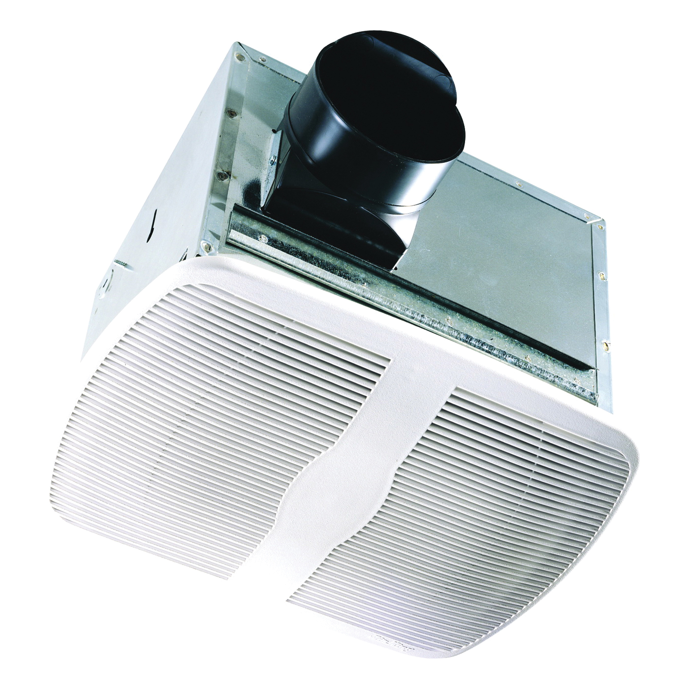 Picture of Air King AK80H Exhaust Fan, 9.4 in L, 10.88 in W, 0.3 A, 120 V, 70 cfm Air, Metal, White