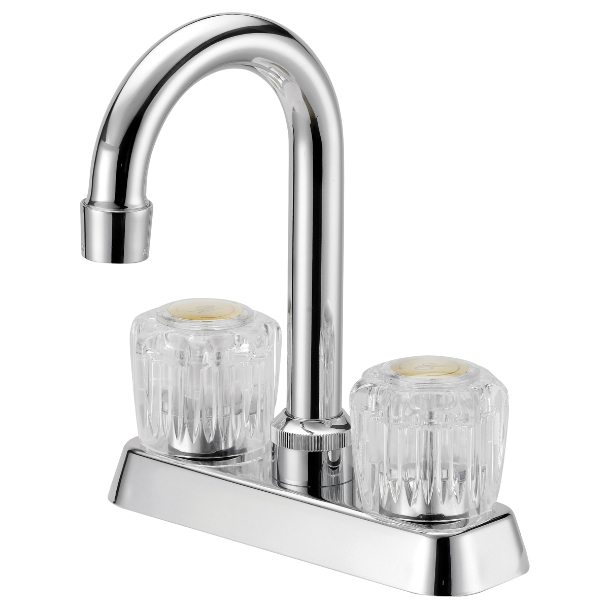 Picture of Boston Harbor PFN47850CP-LF Bar Sink Faucet, 1.8 gpm, 2-Faucet Handle, 3-Faucet Hole, Metal, Chrome