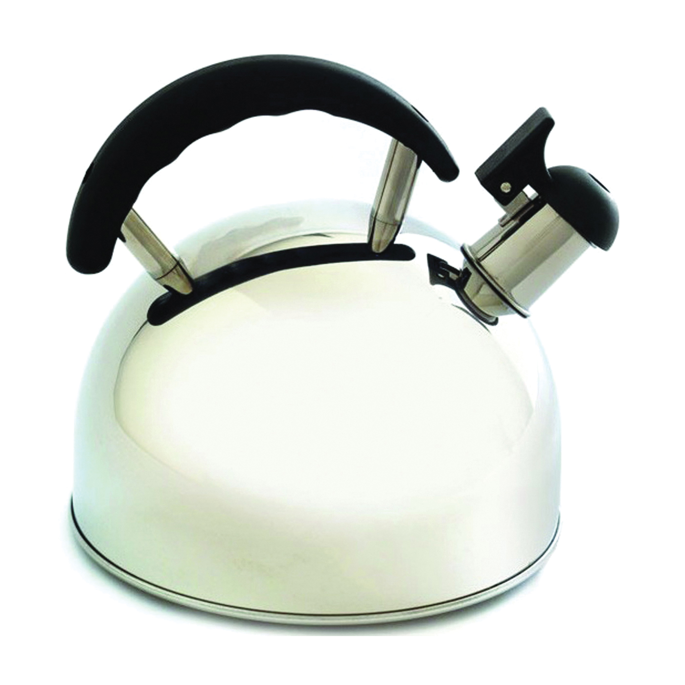 Picture of NORPRO 5627 Whistling Tea Kettle, 2.5 L Capacity, Stay-Cool Handle, Stainless Steel