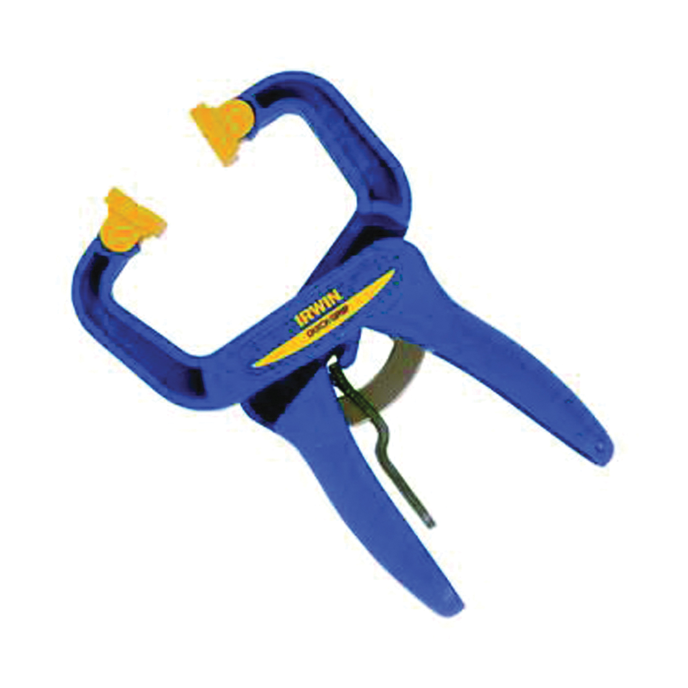 Picture of IRWIN 59100CD Handi-Clamp, 75 lb Clamping, 1-1/2 in Max Opening Size, 1-1/2 in D Throat, Resin Body
