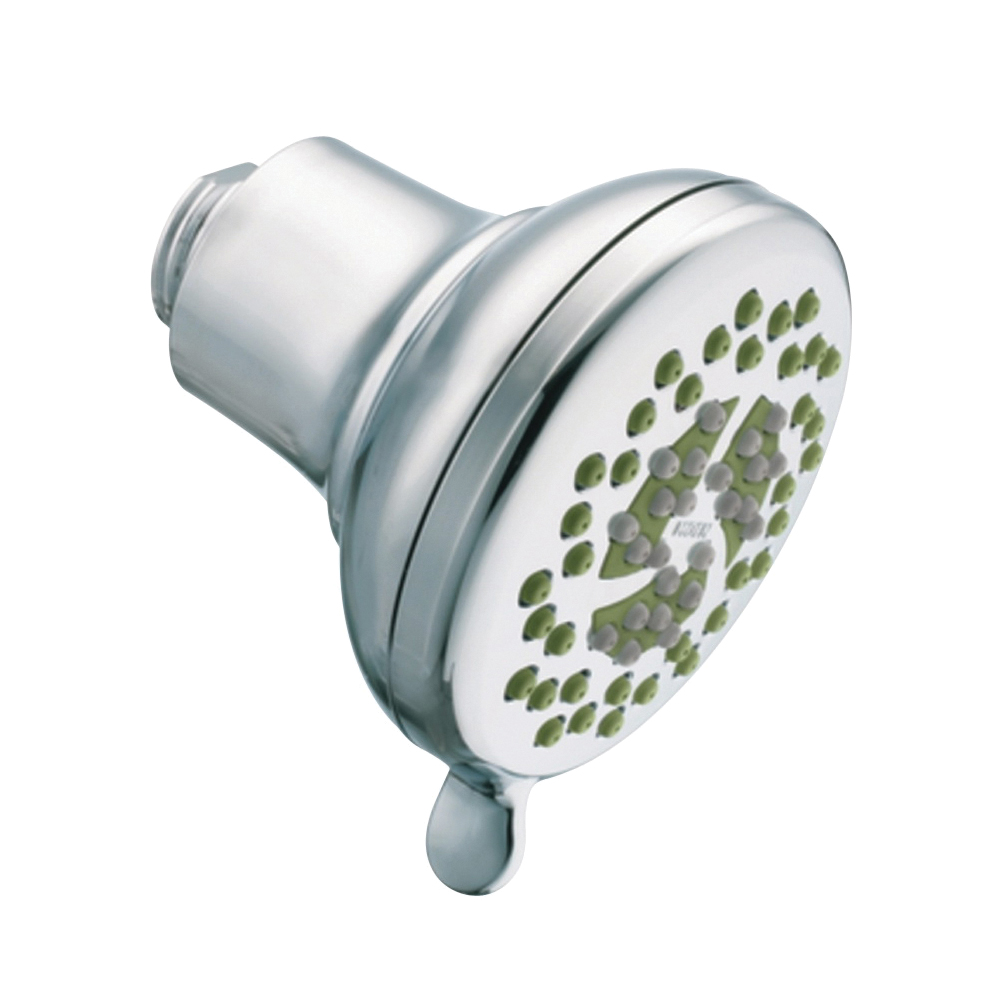 Picture of Moen Nurture 23333 Spray Head, 1.75 gpm, 1/2 in Connection, IPS, Plastic, Chrome, 4 in Dia, 4-1/4 in L