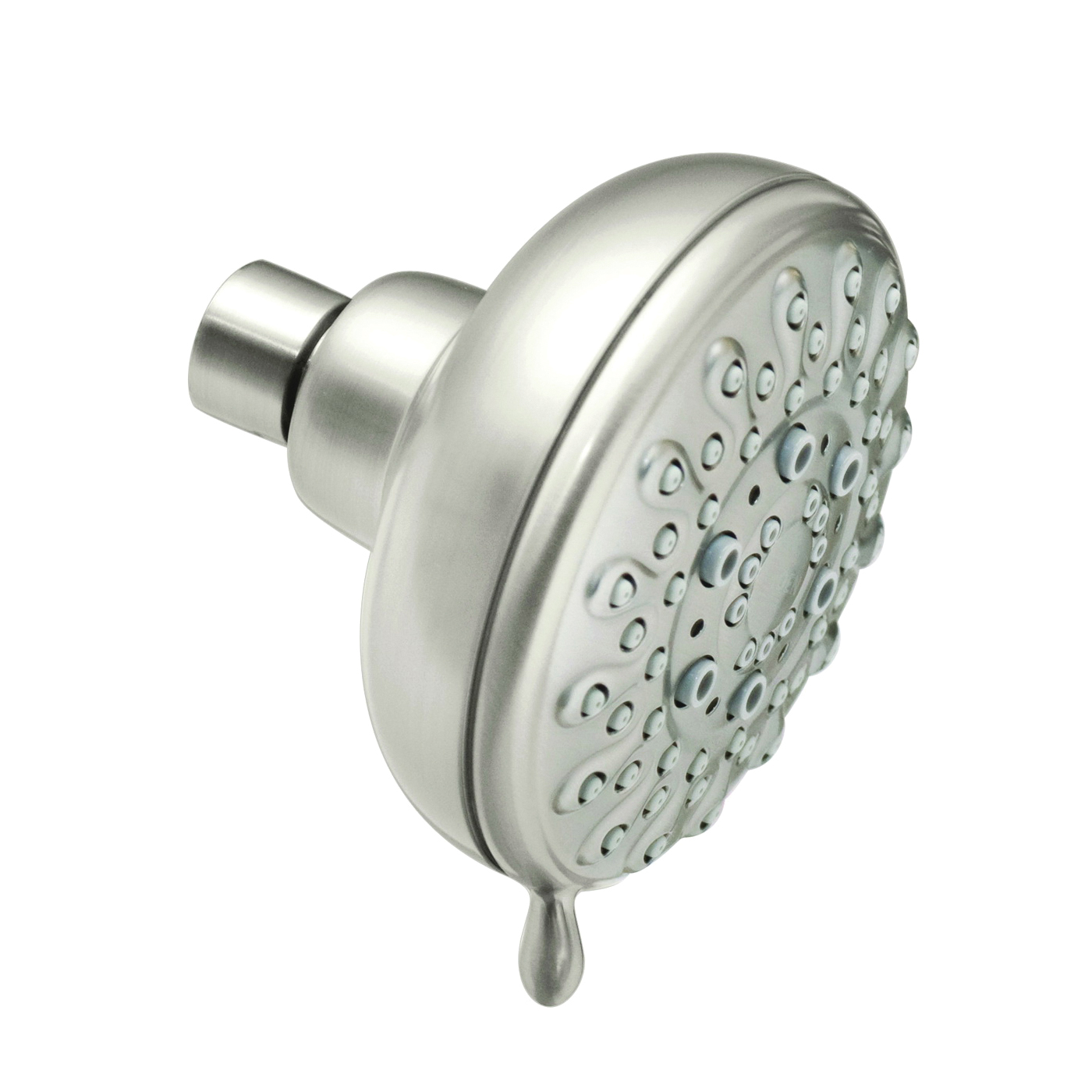 Picture of Moen Banbury 23045SRN Shower Head, 2 gpm, 1/2 in Connection, IPS, Brushed Nickel, 4 in Dia