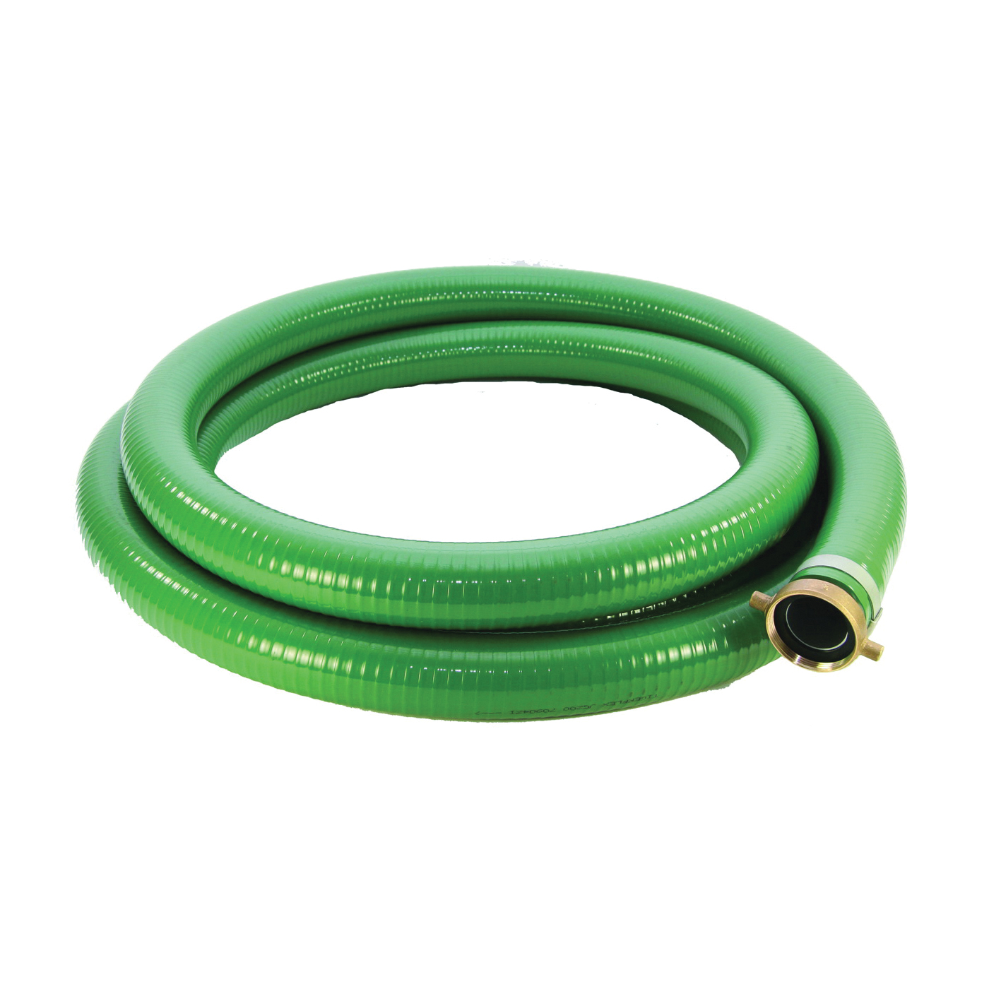 Picture of ABBOTT RUBBER 1240-2000-20-CN Suction Hose, 2 in ID, 20 ft L, Camlock Female x MNPT, PVC