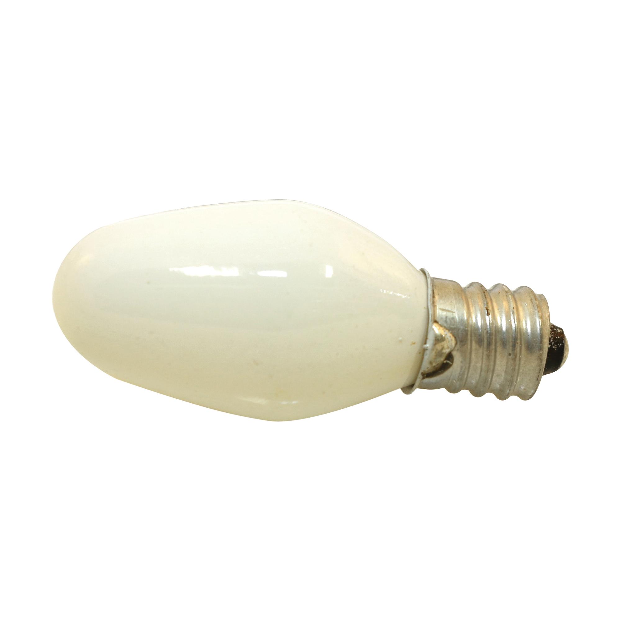 Picture of Sylvania 13553 Incandescent Lamp, 4 W, Candelabra E12 Lamp Base, 2850 K Color Temp, 3000 hr Average Life