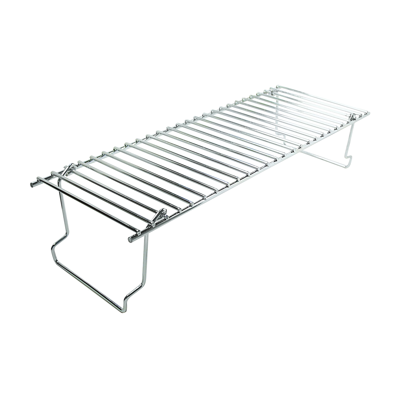 Picture of GrillPro 14625 Warming Rack, 20 in L, 7 in W, Stainless Steel, Chrome