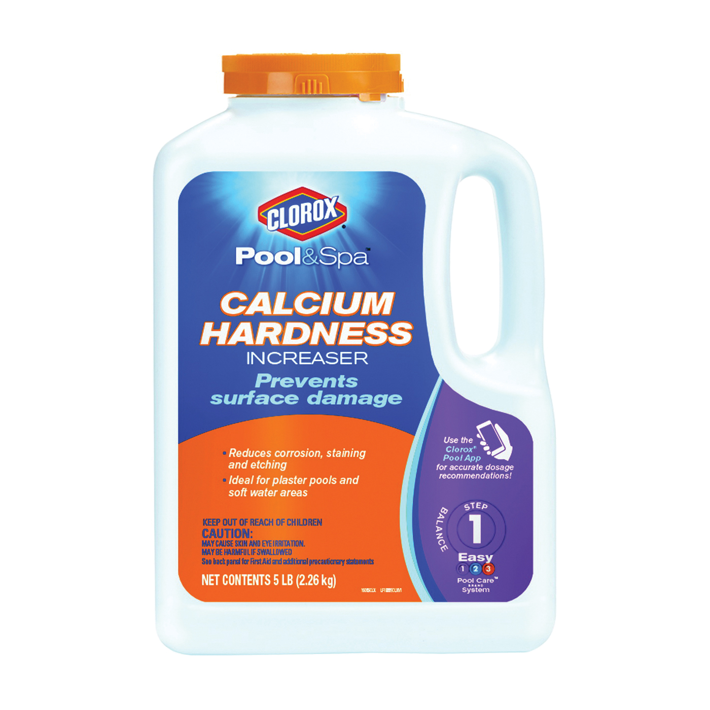 Picture of Clorox 12204CLX Calcium Hardness Increaser, 5 lb, Granular, Odorless, Off-White