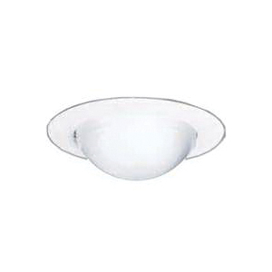 Picture of Halo 172PS Recessed Light Trim, Glass Lens, Polymer Body, White