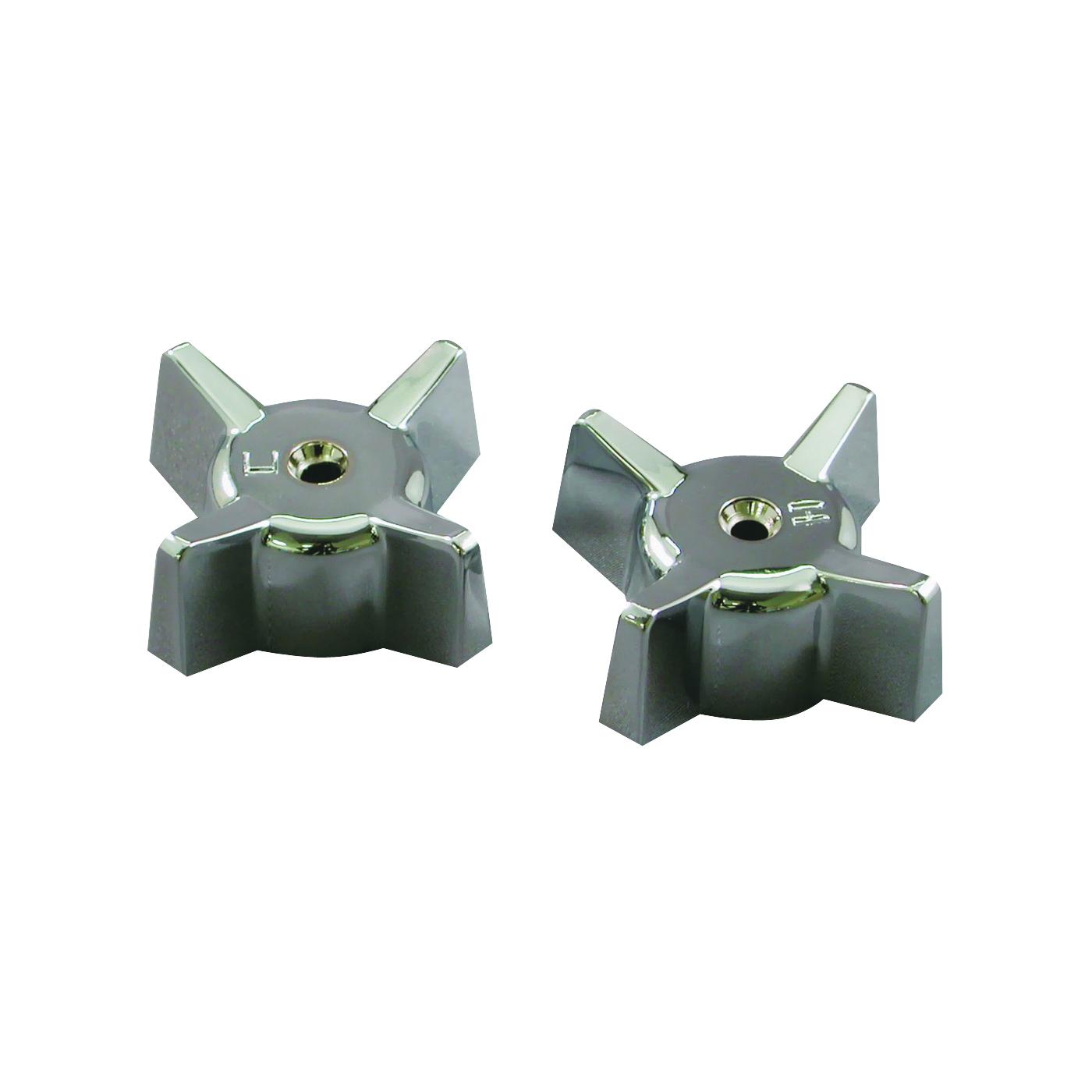Picture of Danco 88090 Faucet Handle, Zinc, Chrome, For: Gerber Two-Handle Tub/Shower Faucets