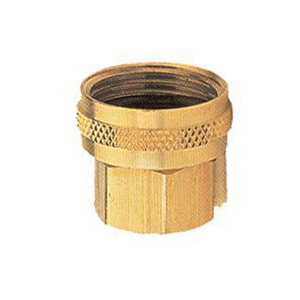 Picture of Gilmour 7FPS7FH Hose Connector, 3/4 x 3/4 in, FNPT x FNH, Brass