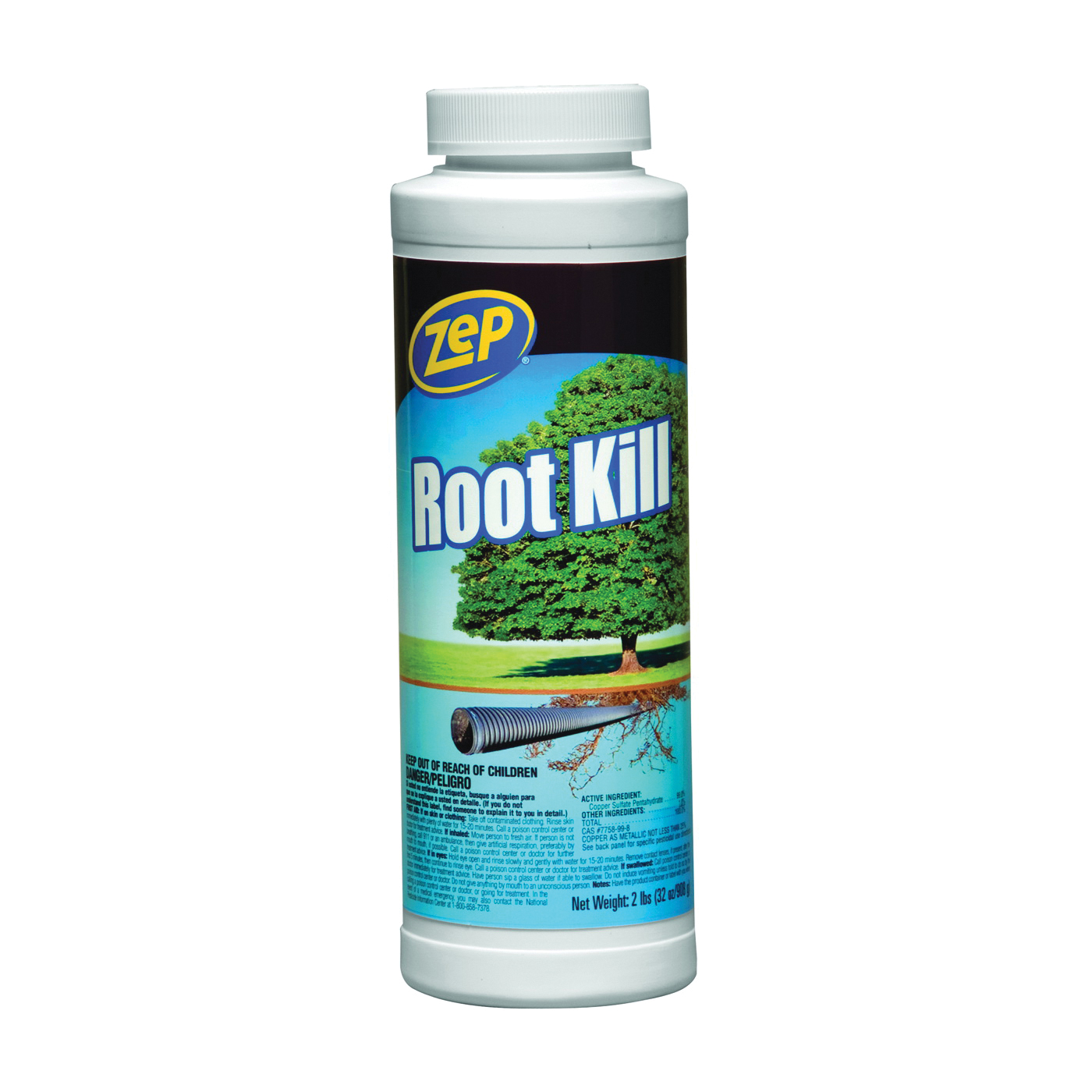 Picture of Zep ZROOT24 Commercial Root Killer, Granular Solid
