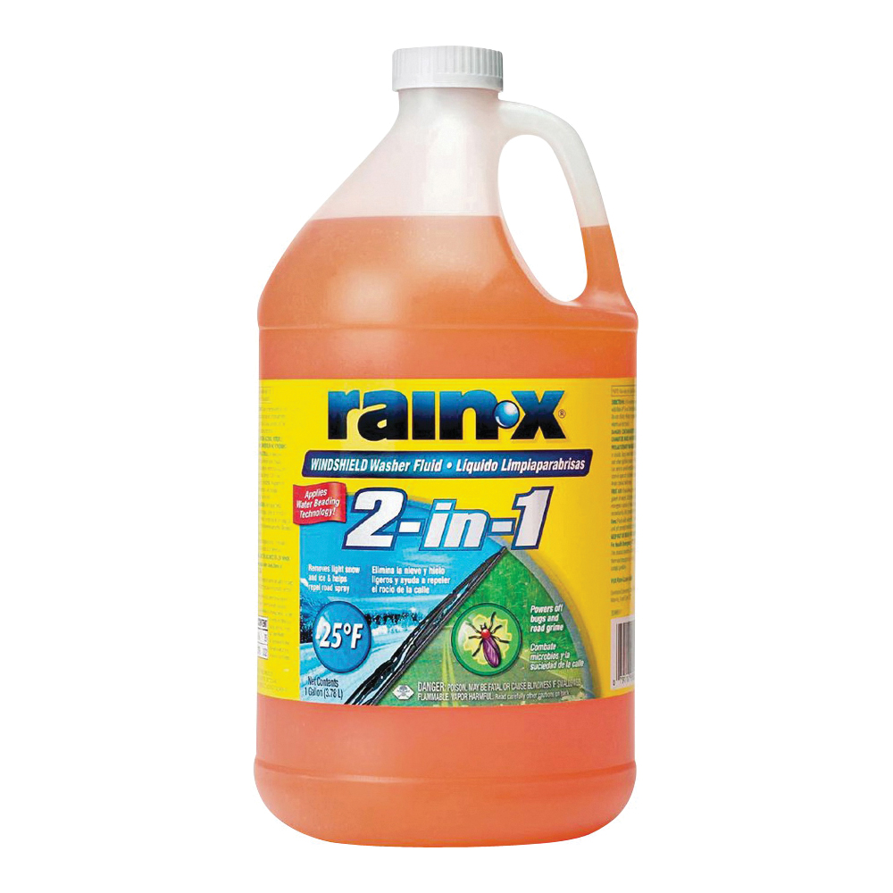 Picture of Rain-X 113645 Windshield Washer Fluid Orange, 3.78 L Package