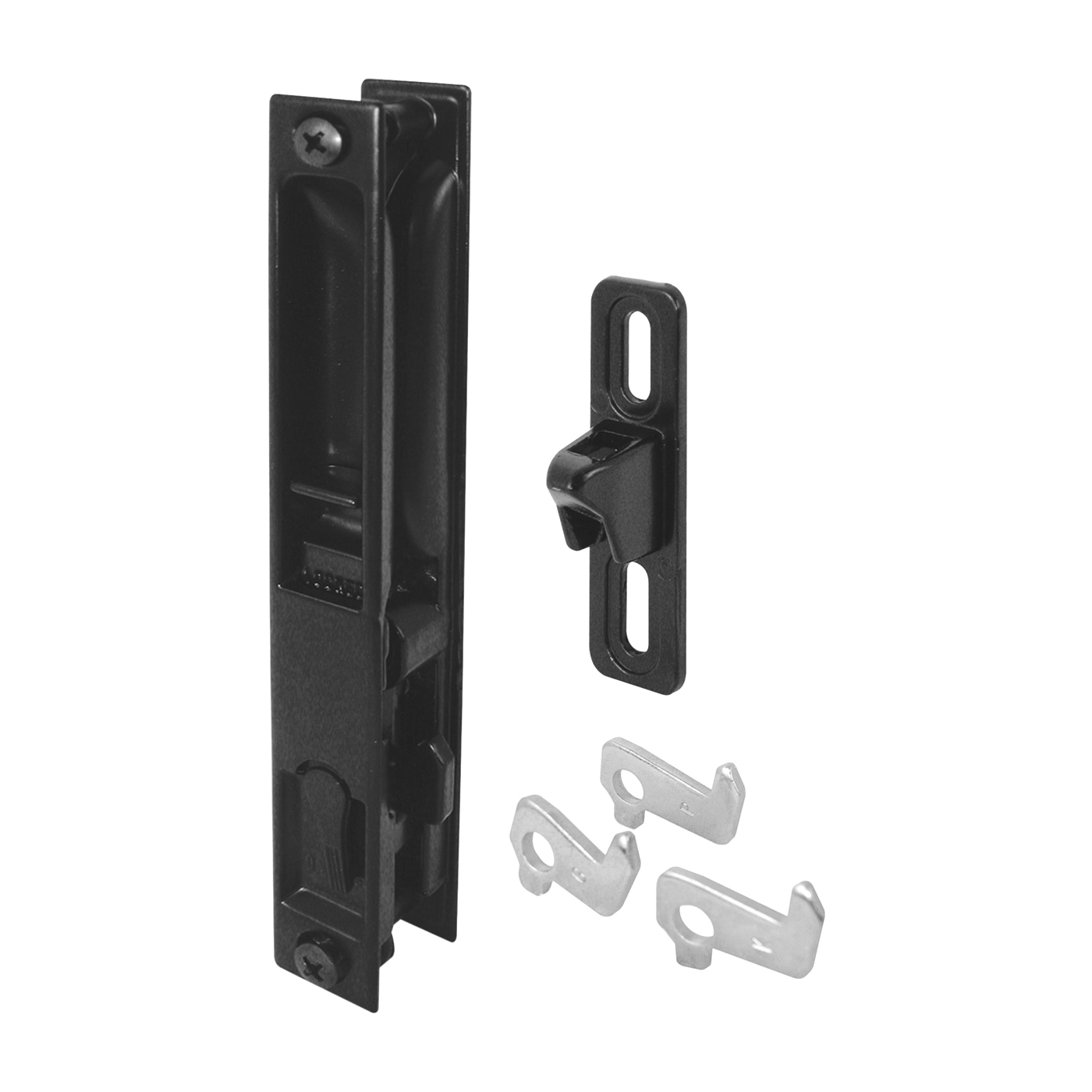 Picture of Prime-Line C 1043 Handle Set, Aluminum, Painted, 1 to 1-1/4 in Thick Door