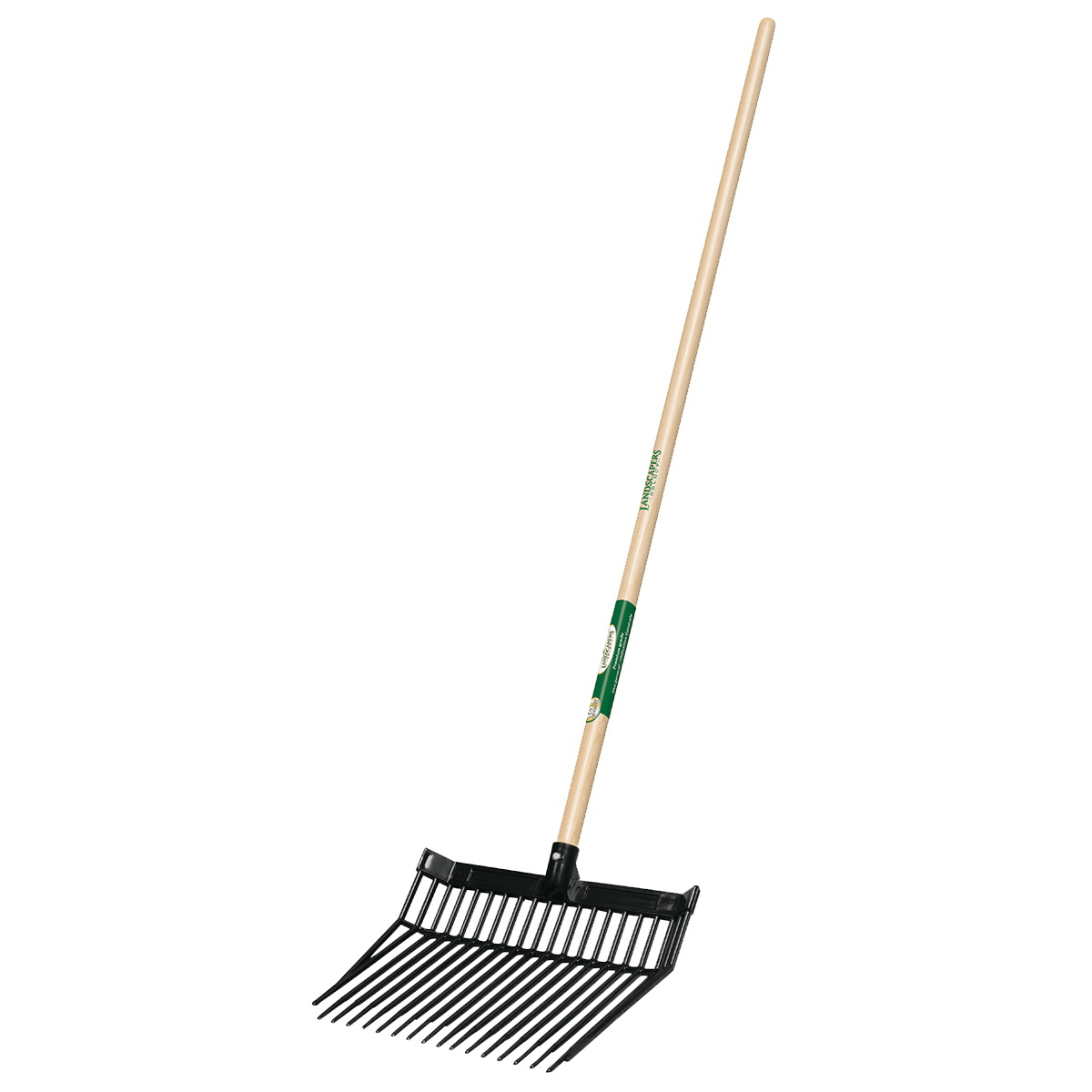 Picture of Landscapers Select 34622 Bedding Fork, Polycarbonate Tine, Wood Handle, 54 in L Handle