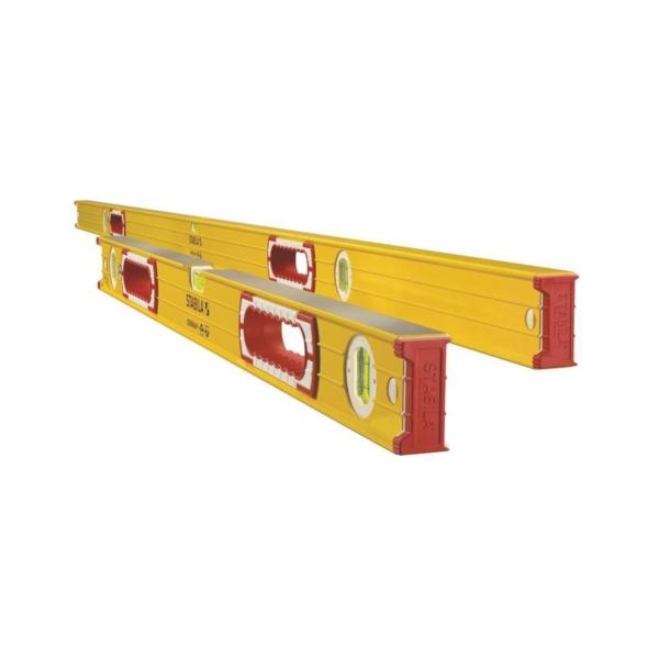 Picture of Stabila 37532 Beam Level Set, Non-Magnetic, Aluminum, Yellow