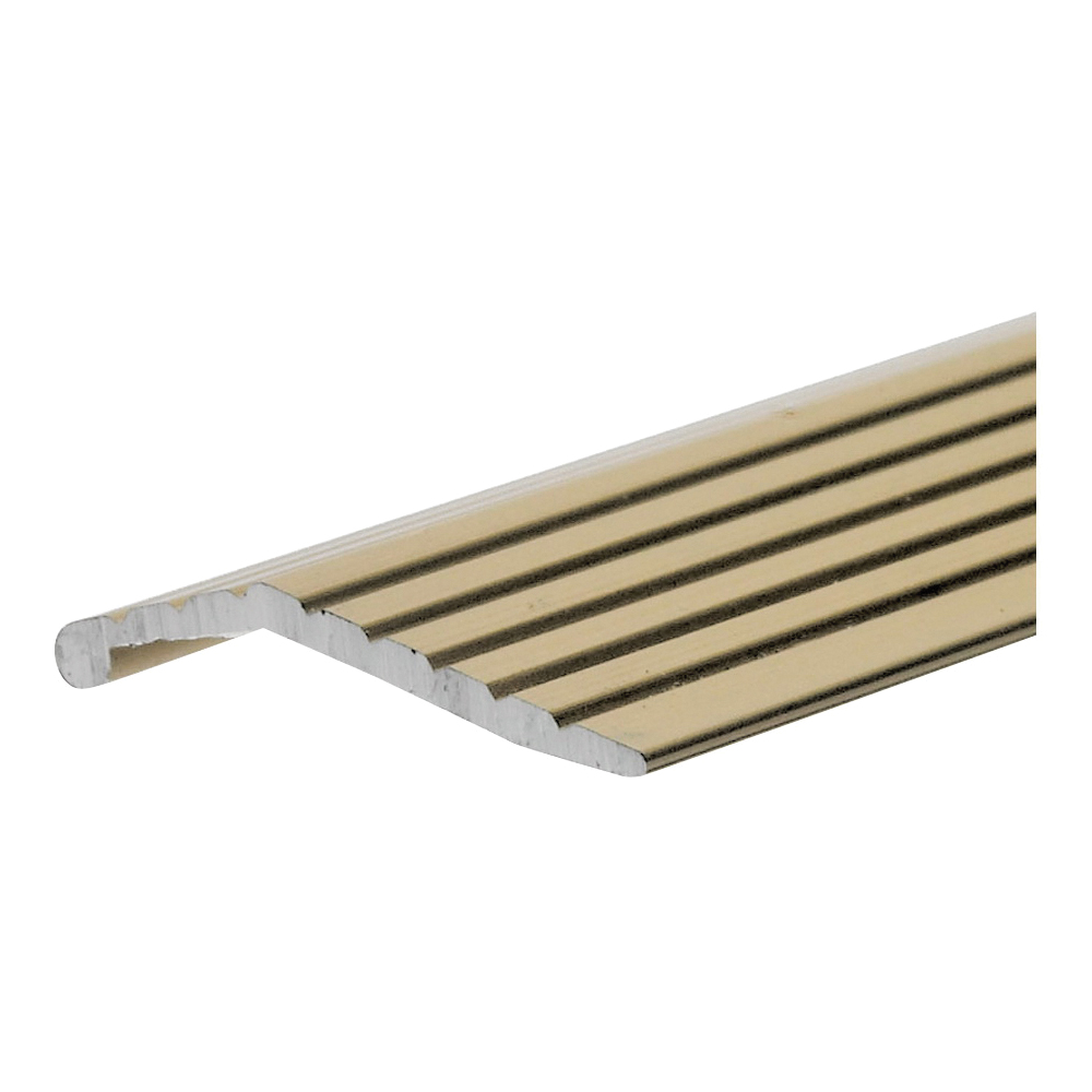 Picture of Frost King H113FB/6 Carpet Bar, 6 ft L, 1 in W, Fluted Surface, Aluminum, Gold, Satin