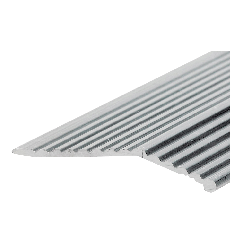 Picture of Frost King H591FS/6 Carpet Bar, 6 ft L, 1-3/8 in W, Fluted Surface, Aluminum, Silver, Satin