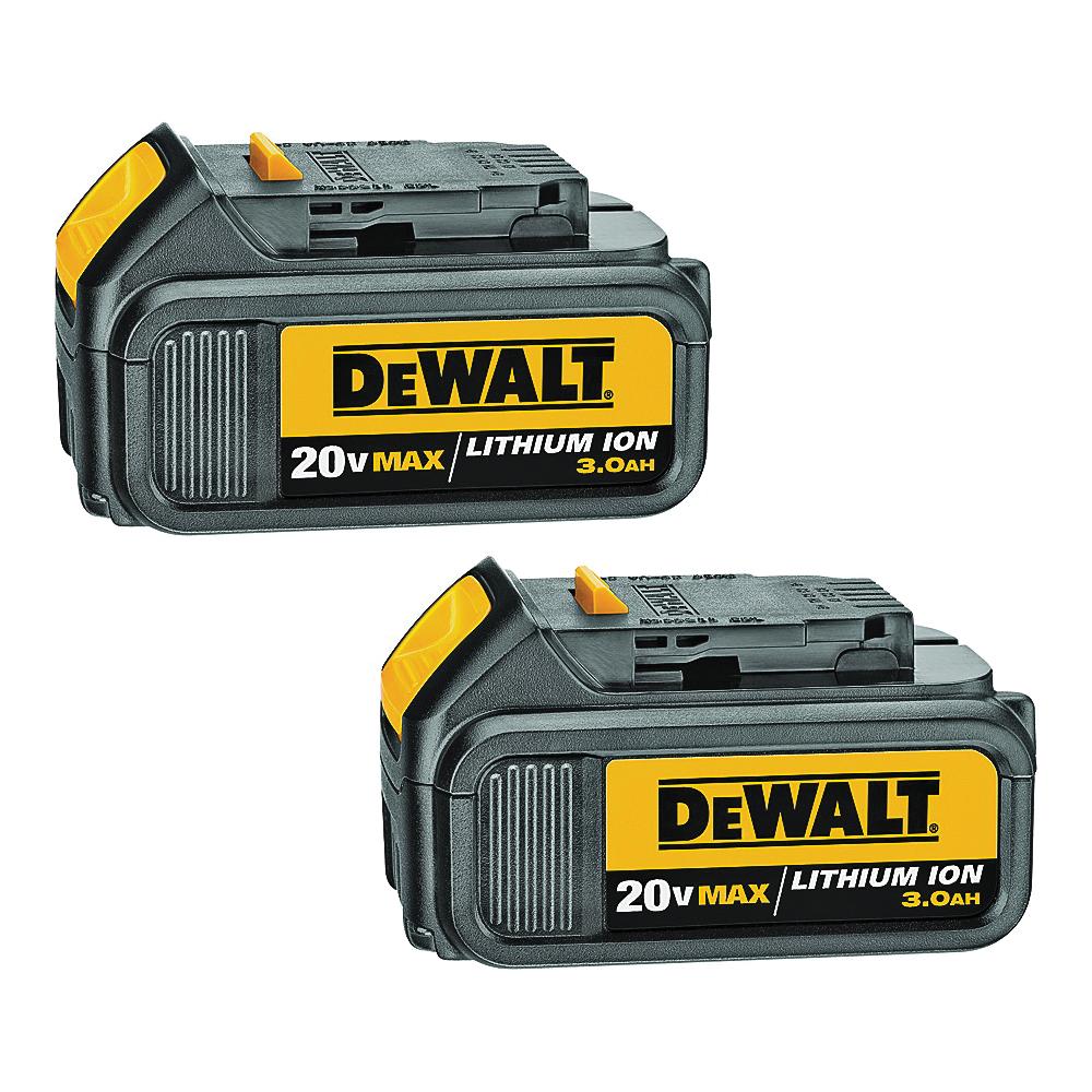 Picture of DeWALT DCB200-2 Battery Pack, 20 V Battery, 3 Ah
