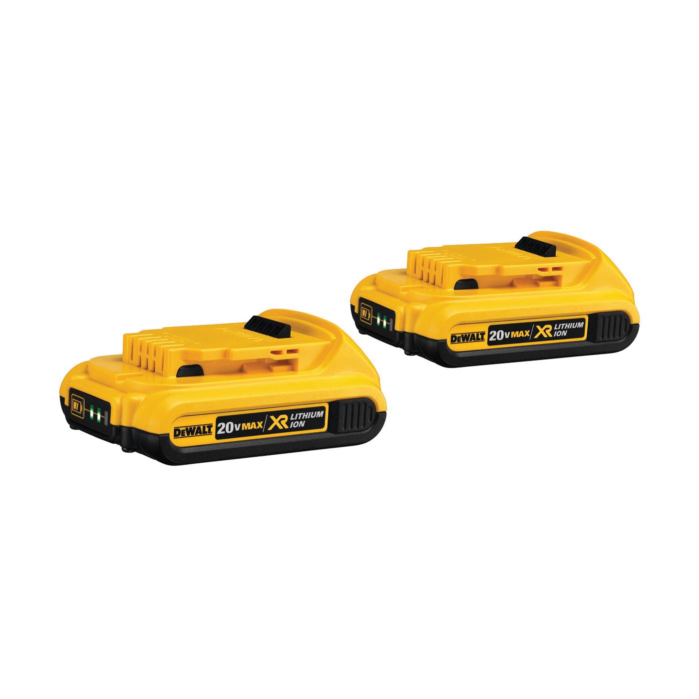 Picture of DeWALT DCB203-2 Battery Pack, 20 V Battery, 2 Ah