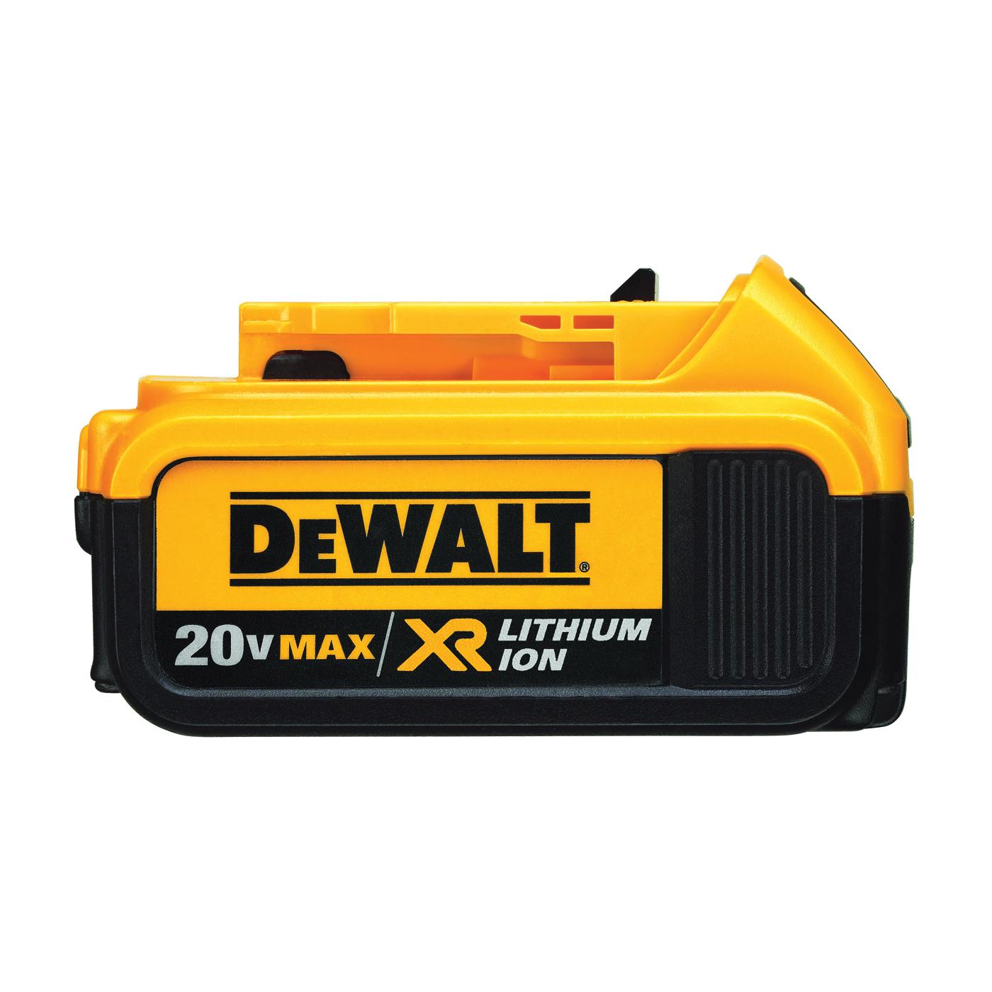 Picture of DeWALT Premium XR DCB204 Battery Pack, 20 V Battery, 4 Ah
