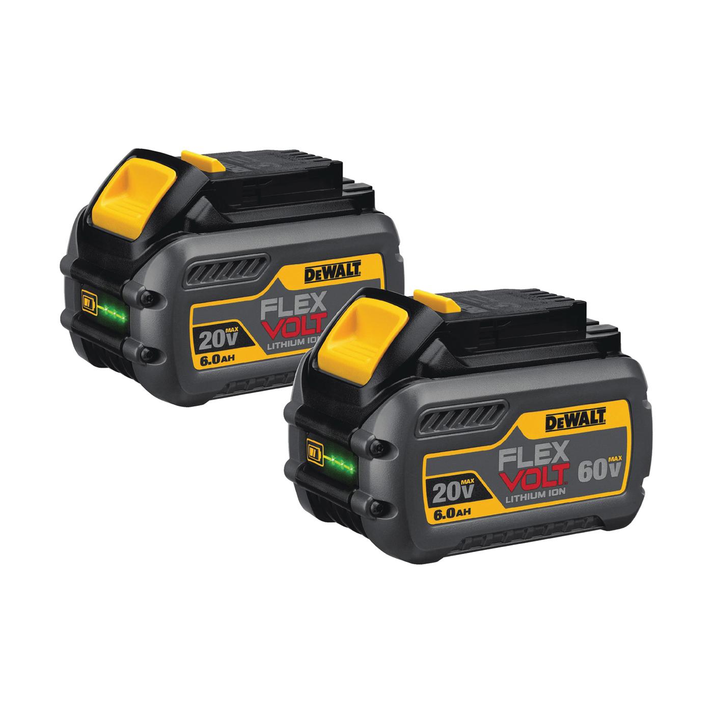 Picture of DeWALT DCB606-2 Battery Pack, 20, 60 V Battery, 6 Ah