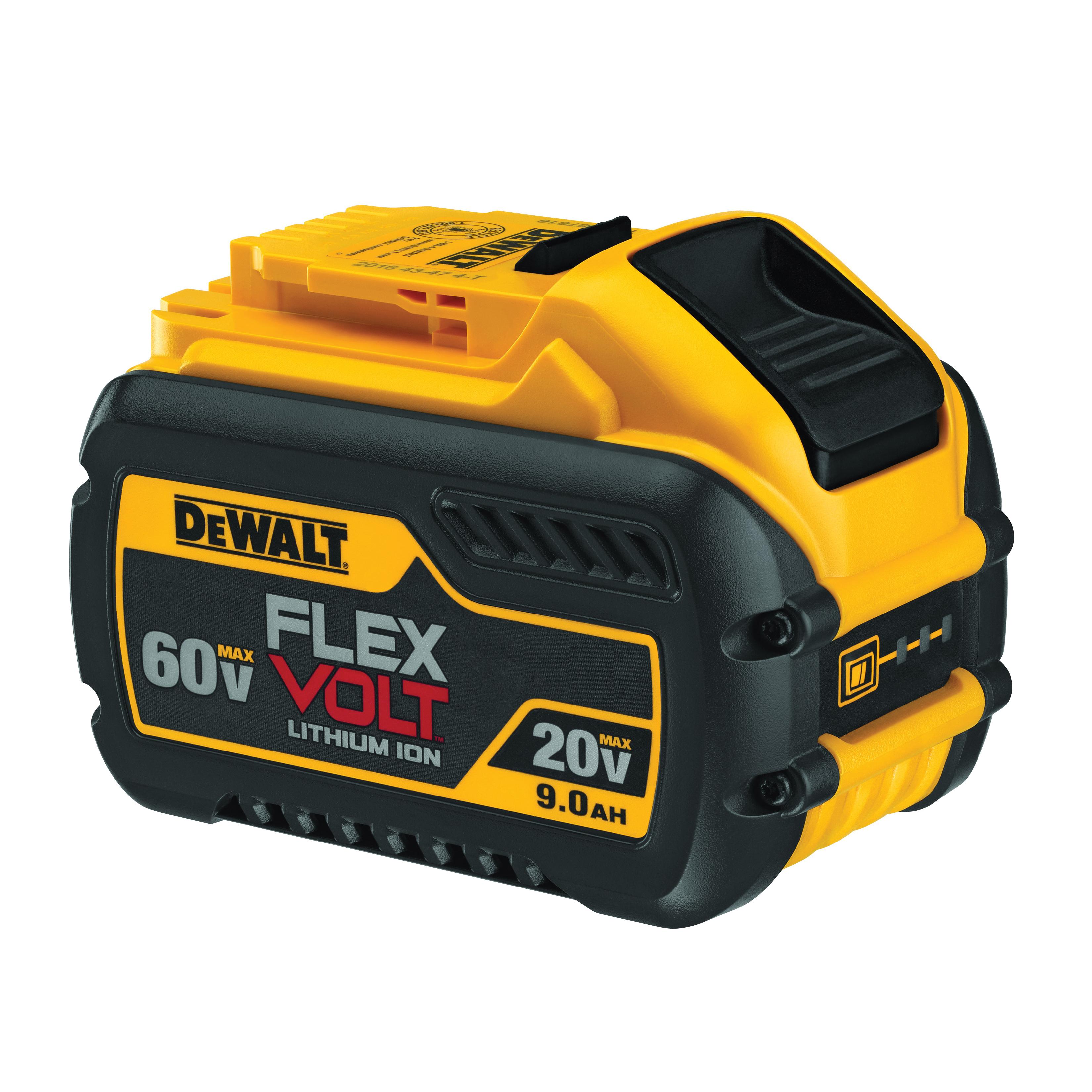 Picture of DeWALT DCB609 Battery Pack, 20, 60 V Battery, 9 Ah
