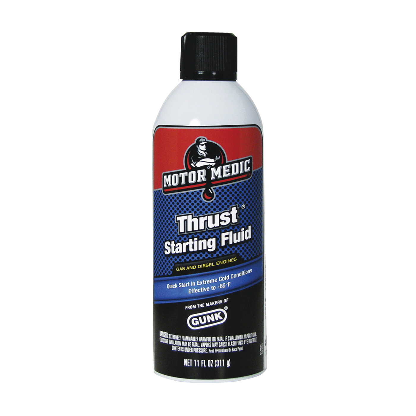 Picture of MOTOR MEDIC M3815 Starting Fluid, 11 oz Package, Aerosol Can