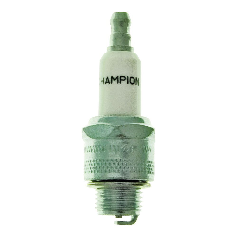 Picture of Champion J17LM Spark Plug, 0.023 to 0.028 in Fill Gap, 0.551 in Thread, 0.813 in Hex, Copper, For: Small Engines