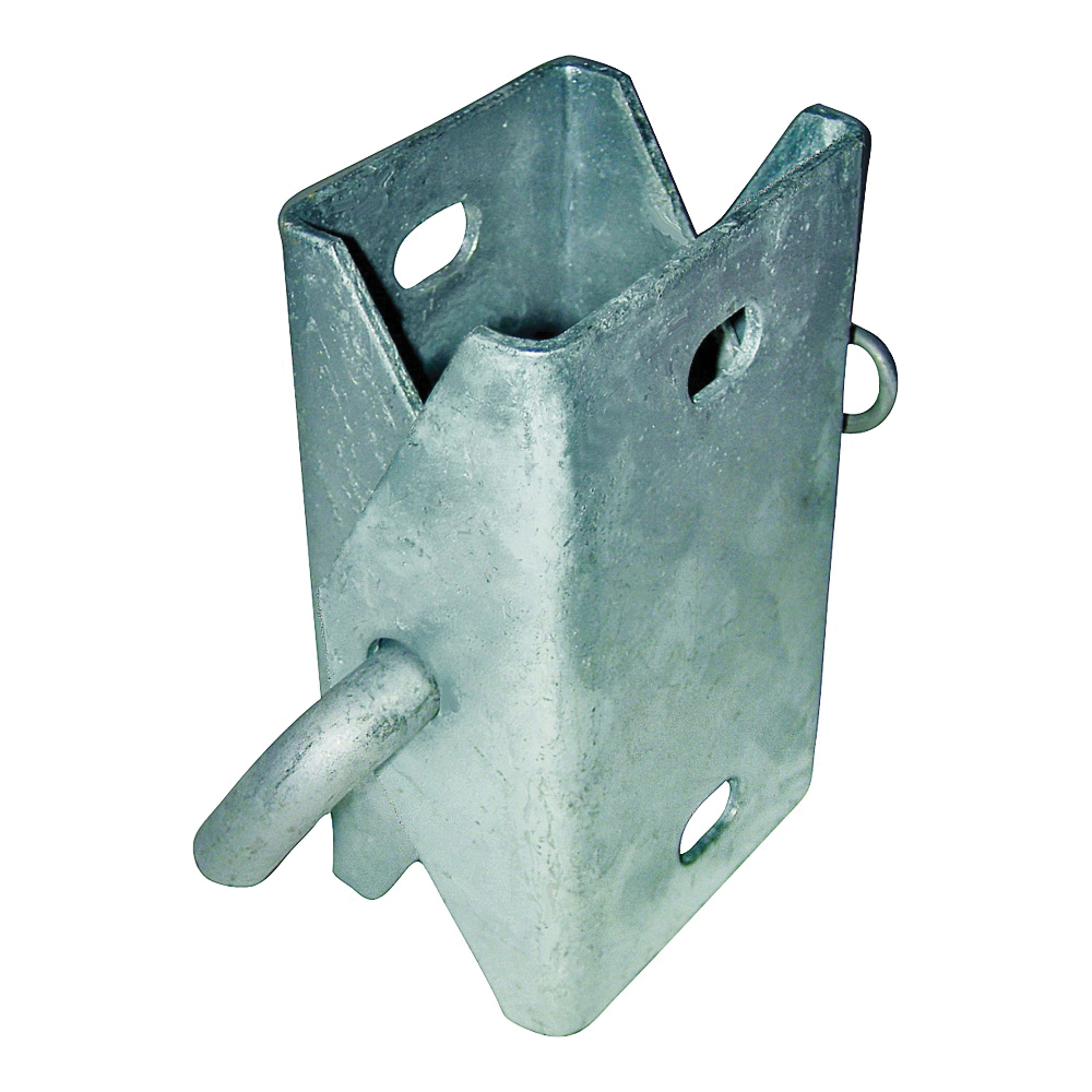 Picture of Multinautic 10004 Connector Hinge, Galvanized Steel, For: Stationary Dock with 10 000 Series Back Plates or Corners