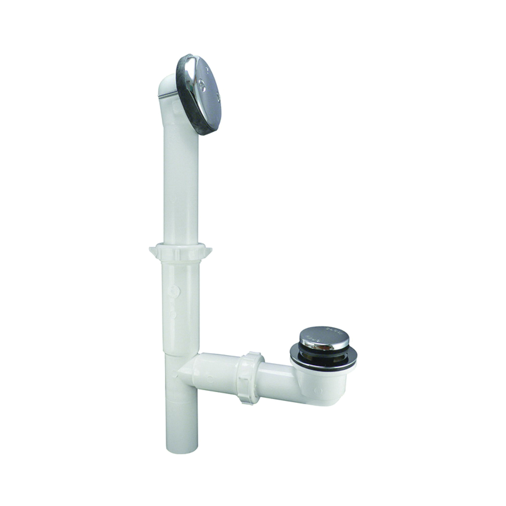 Picture of Keeney 63WK Bath Drain, Plastic, Chrome, For: All Standard Size Tubs