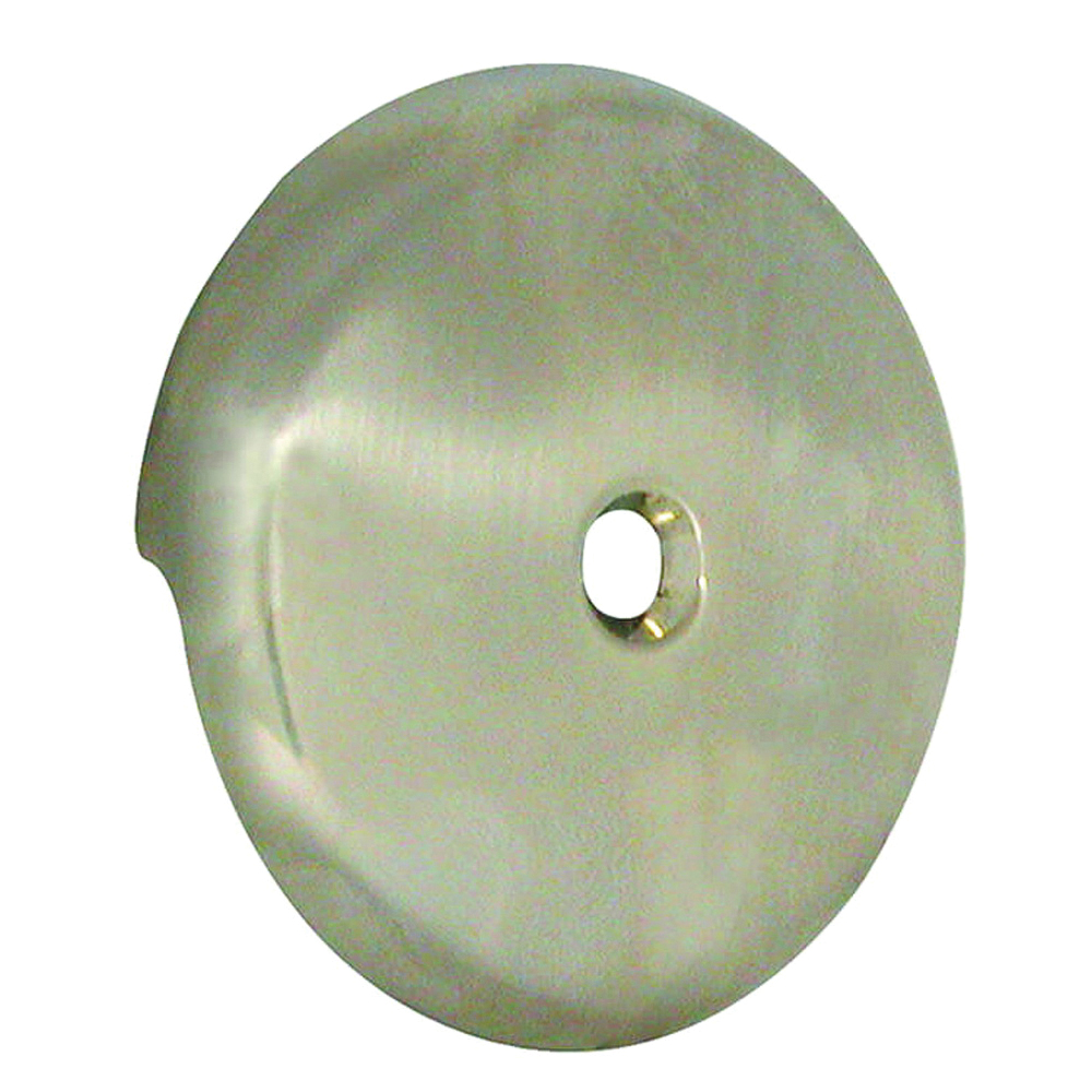 Picture of Danco 89235 Overflow Plate, Plastic, Brushed Nickel