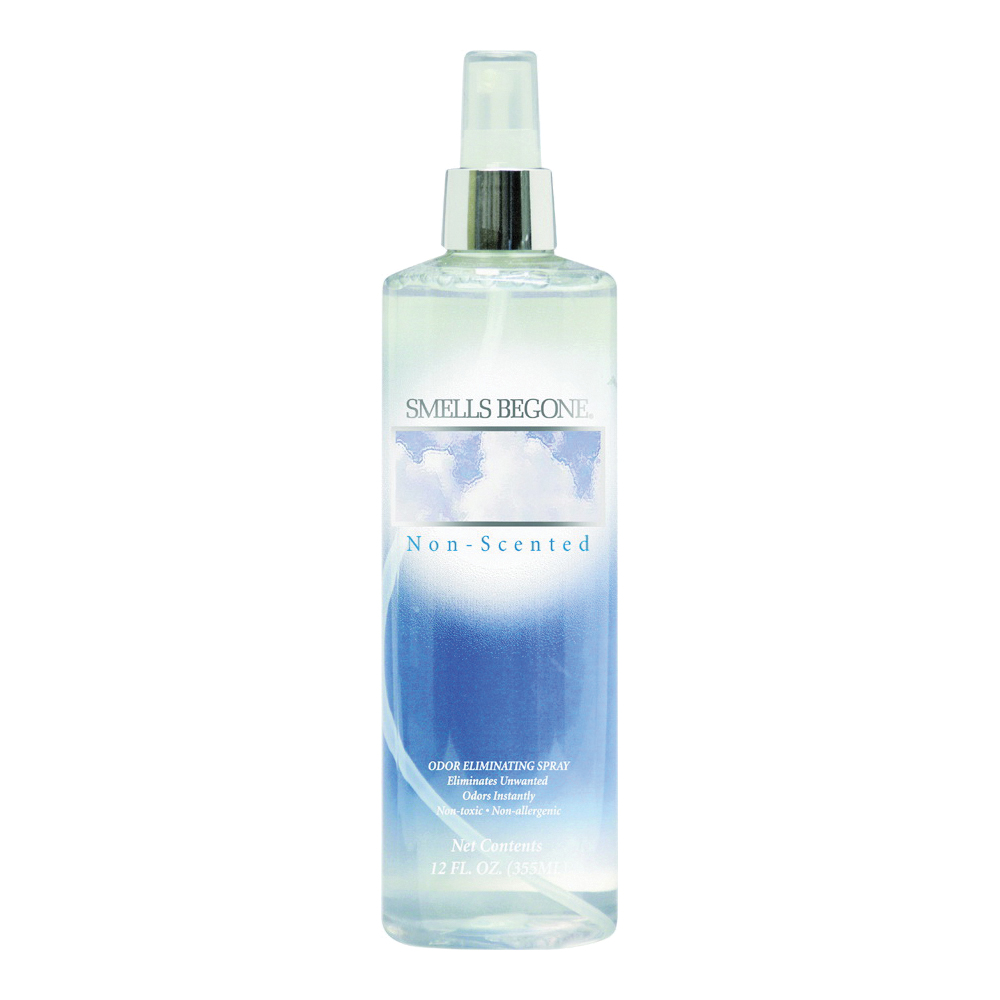 Picture of SMELLS BEGONE 00112 Odor Eliminator Clear, 12 oz Package, Faint Blue, Clear