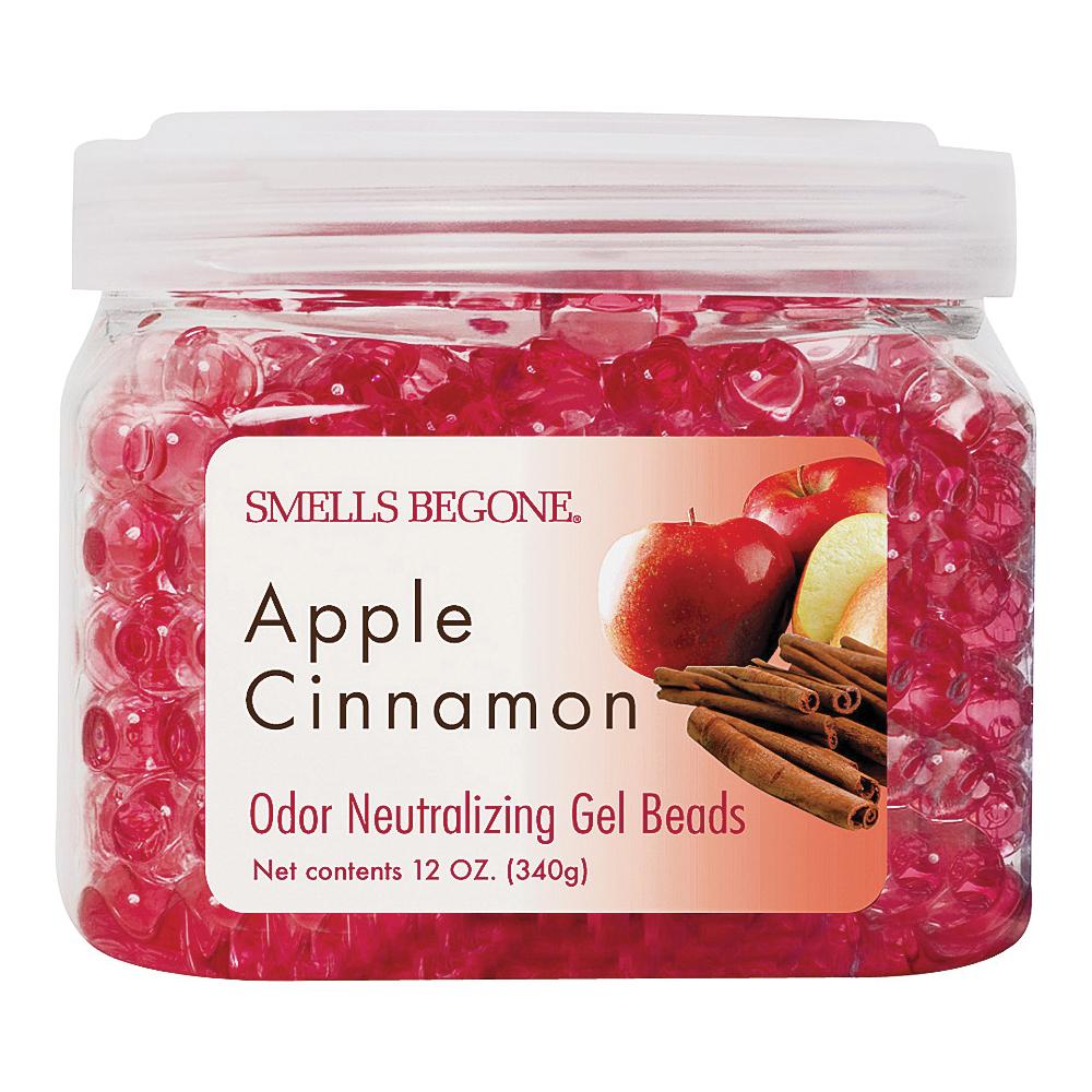 Picture of SMELLS BEGONE 52812 Odor Neutralizing Gel, 12 oz Package, Jar, Apple Cinnamon, 450 sq-ft Coverage Area
