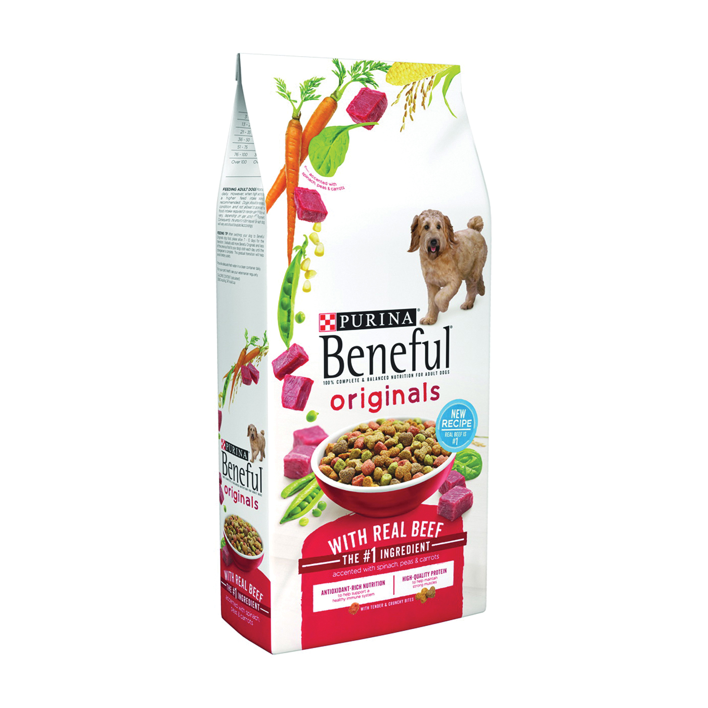 Picture of Beneful 1780013485 Dog Food, Beef Flavor, 3.5 lb Package, Bag
