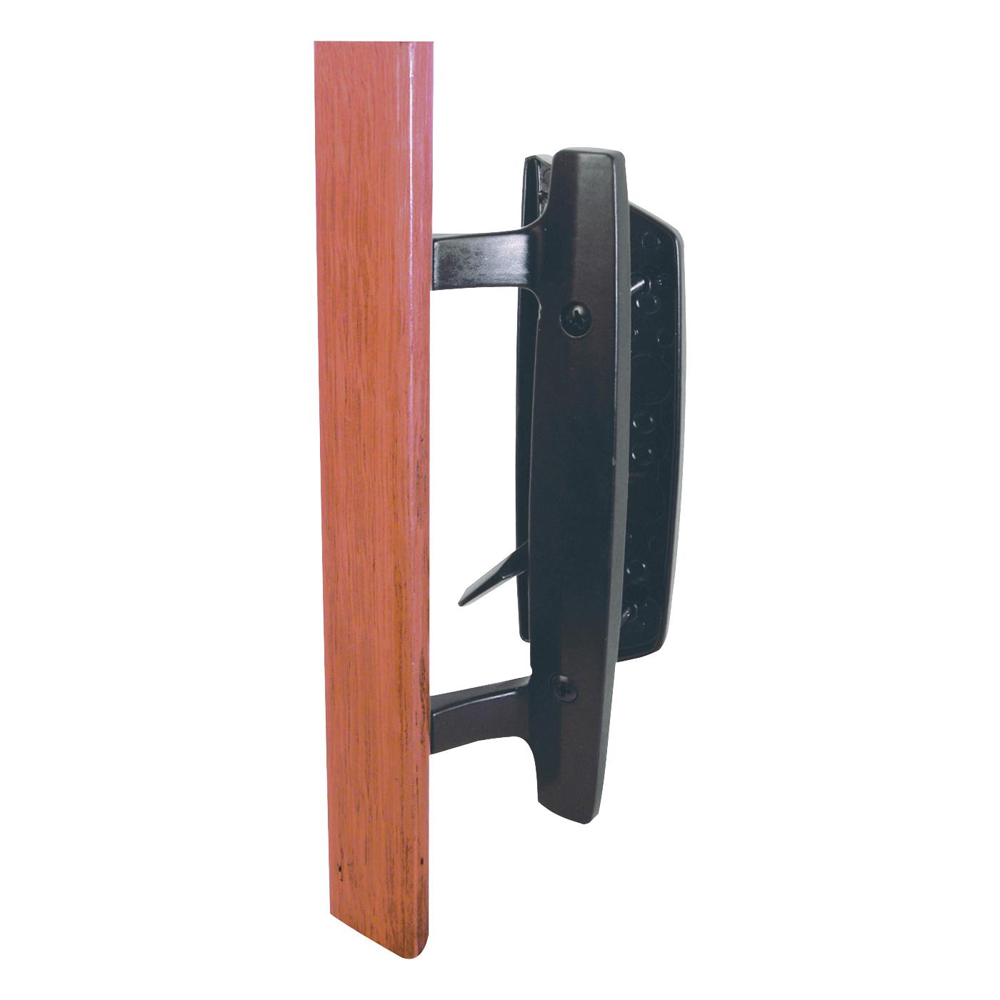 Picture of Prime-Line C 1131 Handle Set, Die-Cast/Wood, Wood, 1 to 1-1/2 in Thick Door