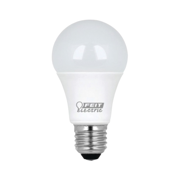 Picture of Feit Electric A1100/827/10KLED/2 LED Lamp, 11.2 W, Medium E26 Lamp Base, A19 Lamp, Soft White Light, 1100 Lumens
