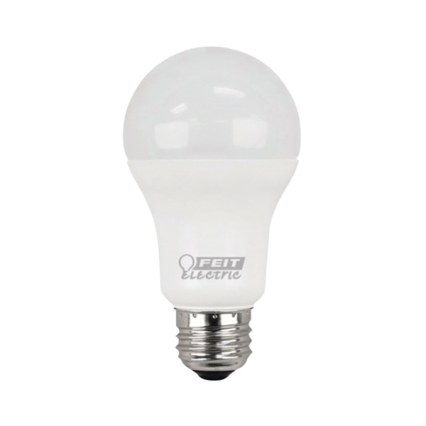 Picture of Feit Electric A1600/827/10KLED/2 LED Lamp, 14.7 W, Medium E26 Lamp Base, A19 Lamp, Soft White Light, 1500 Lumens