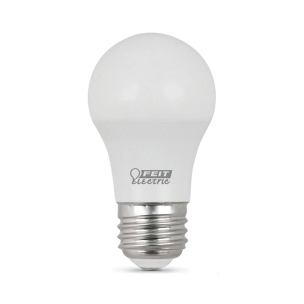 Picture of Feit Electric A1560/10KLED/3 LED Lamp, 6.5 W, Medium E26 Lamp Base, A15 Lamp, Warm White Light, 500 Lumens