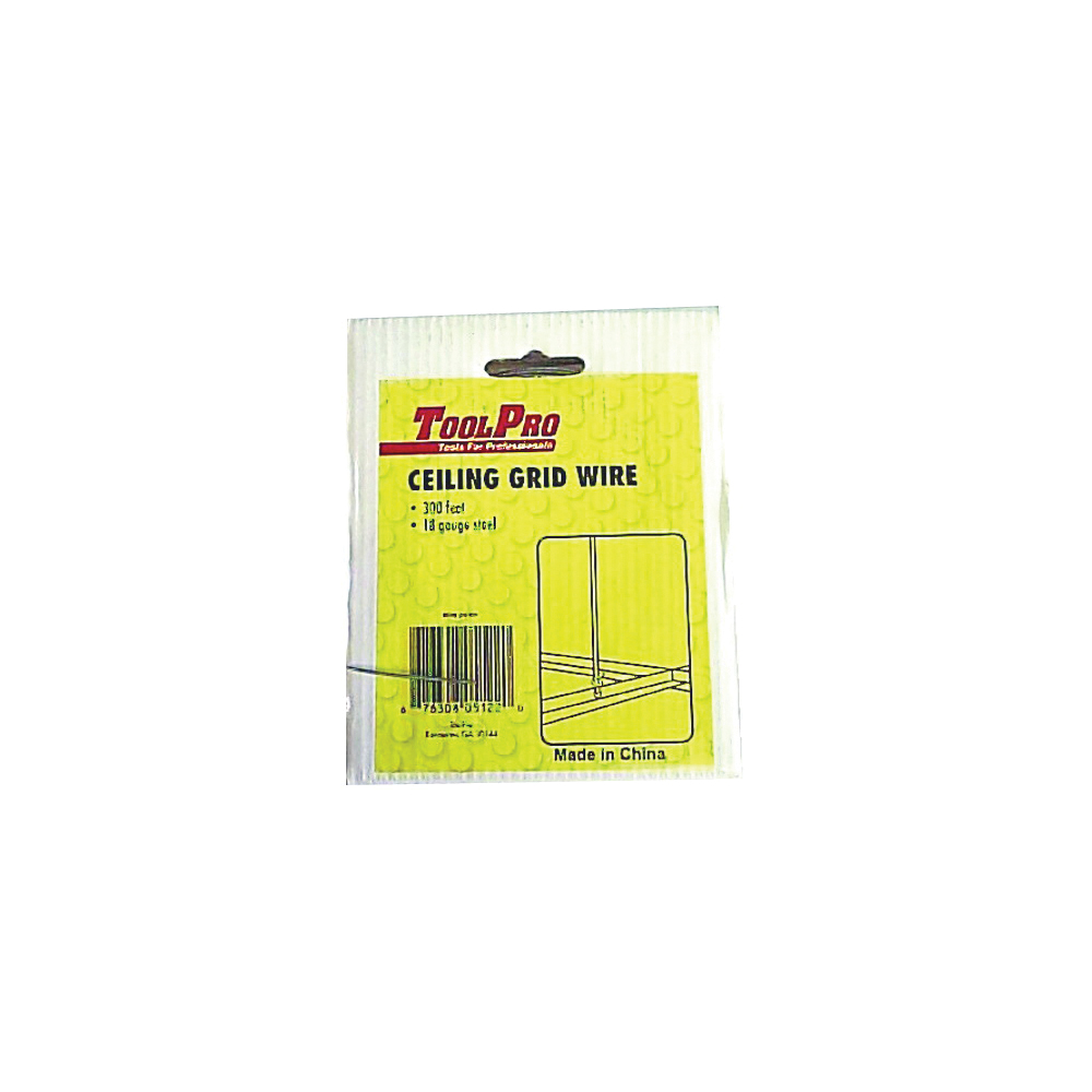 Picture of TOOLPRO 05122 Ceiling Wire, Galvanized Steel