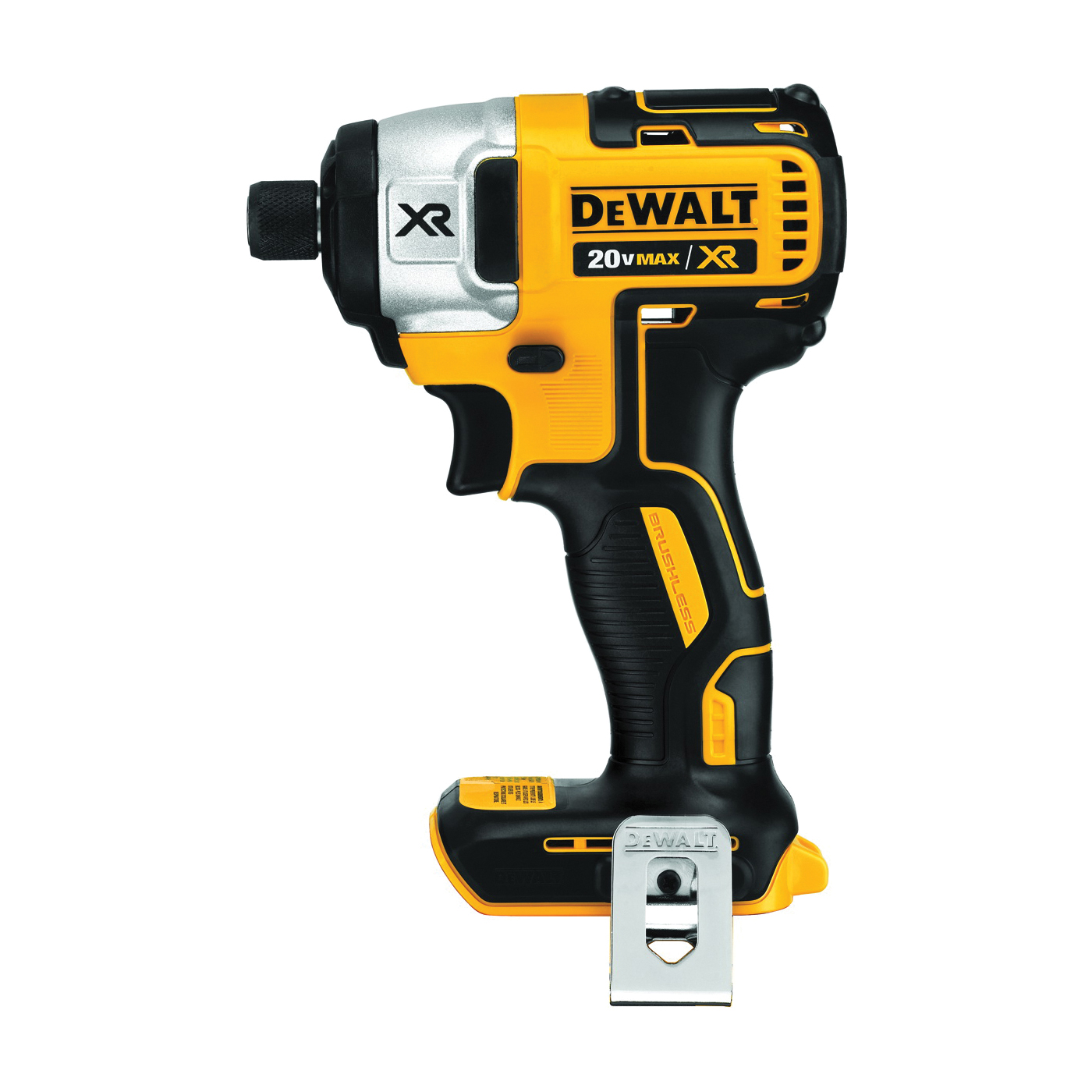 Picture of DeWALT DCF887B/DCF886B Impact Driver, Bare Tool, 20 V Battery, 2 Ah, 1/4 in Drive, Hex Drive, 3800 ipm IPM