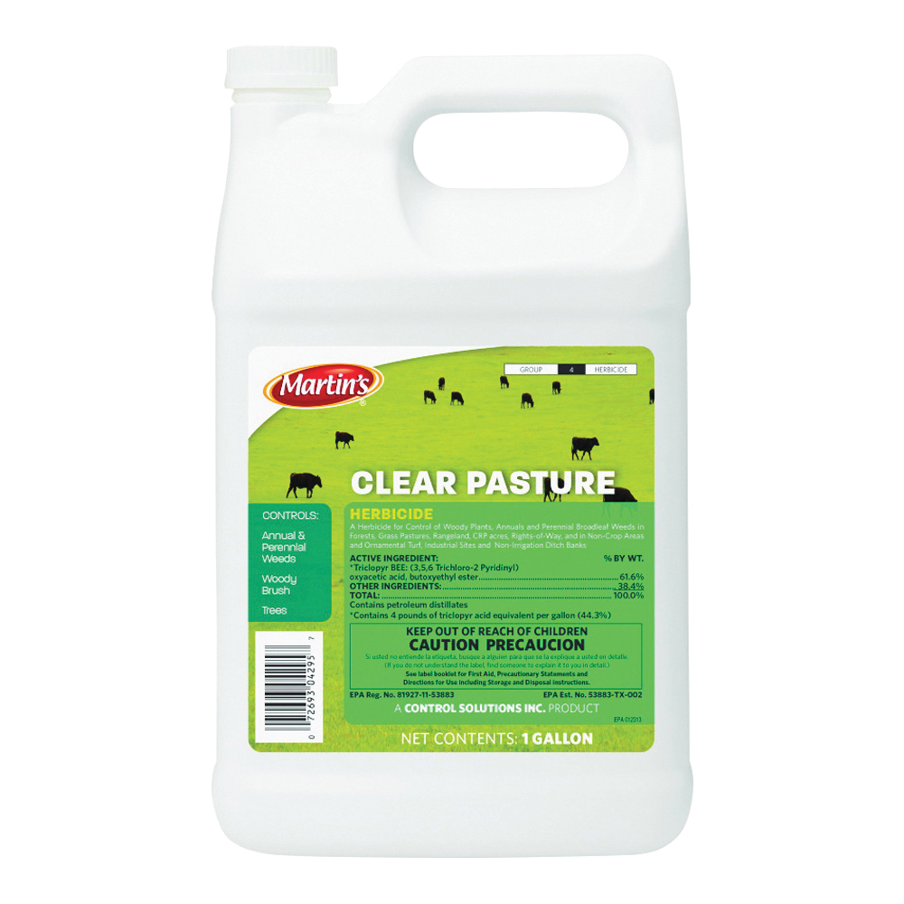 Picture of Martin's 82004295 Pasture Herbicide, Liquid, Amber, 1 gal Package