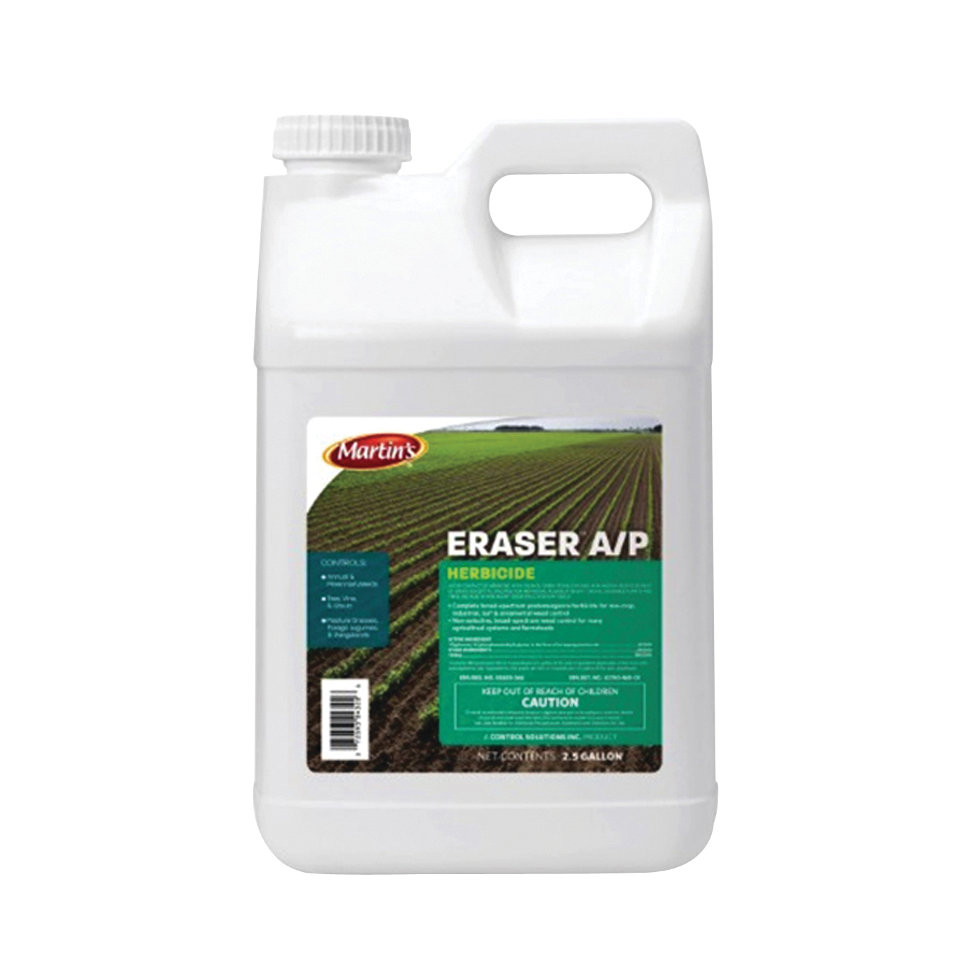 Picture of Martin's 82004320 Weed and Grass Killer, Liquid, Clear, 2.5 gal Package